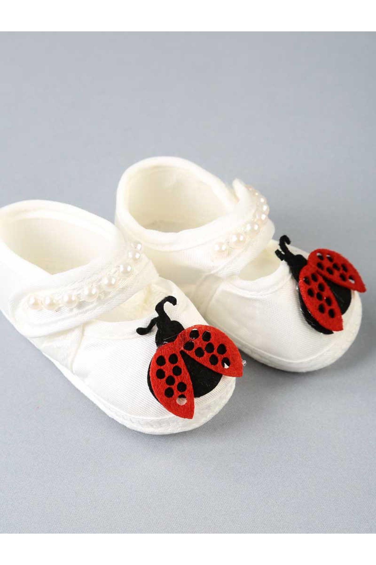 Kırmızı Uğurböcekli Bebek Tütü Takım