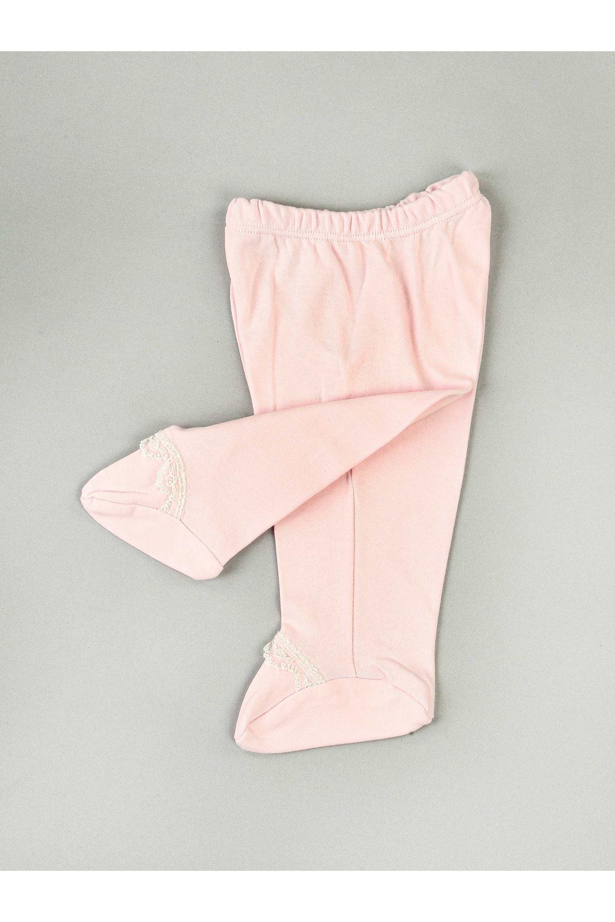 Pink White Baby Girl Newborn 10 Piece Suit Hospital Wear Cotton Casual Girls Babies Sets Seasonal Models