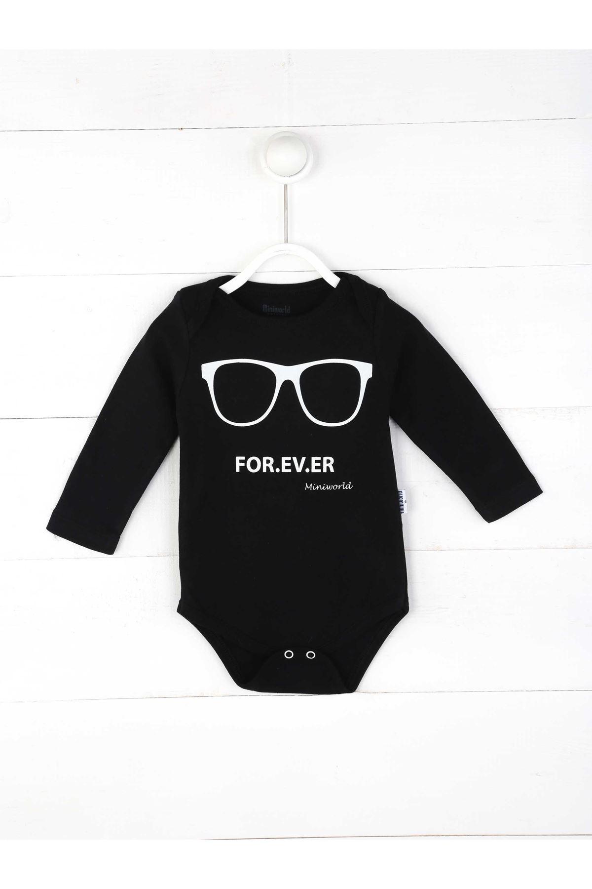 Siyah Erkek Bebek 3 lü Takım