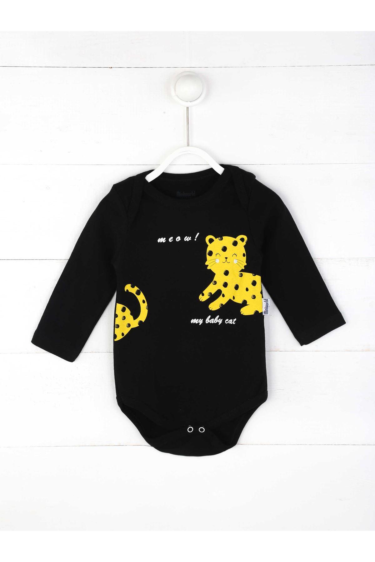 Sarı Erkek Bebek 3 lü Takım