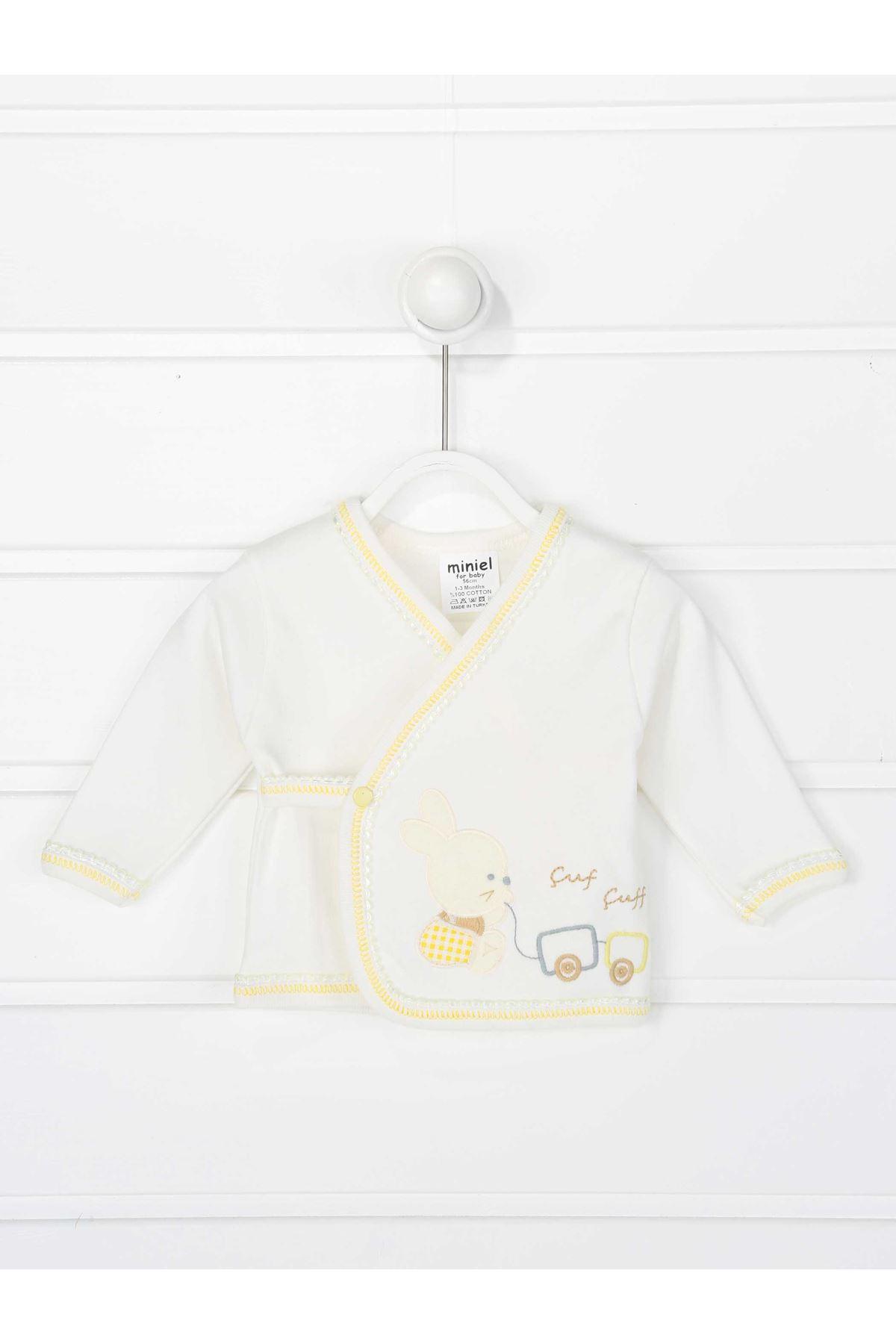 Sarı Yenidoğan Erkek Bebek 5 li Hastane Çıkışı