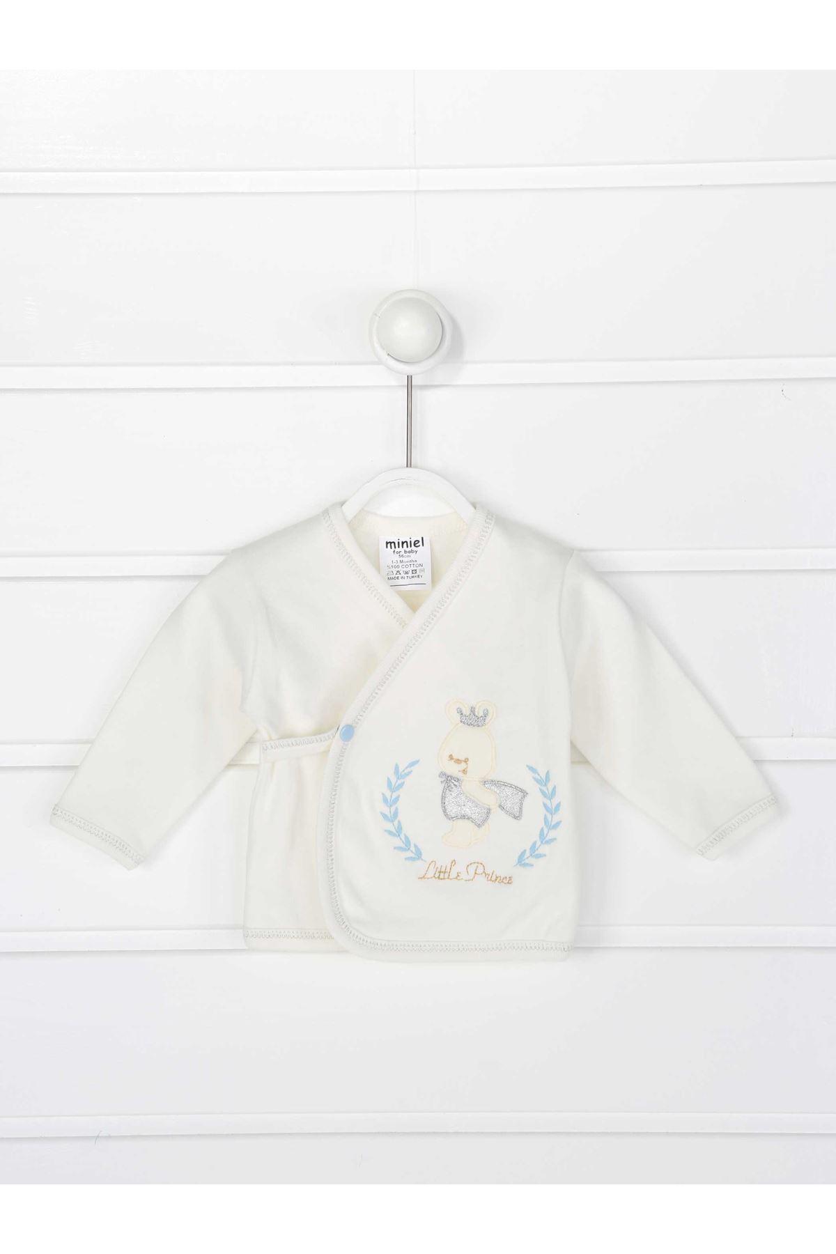 Blue Newborn Baby Boy 5 piece suit set cotton Gentleman Princess Hospital Outlet daily casual Boys Babies clothes style fashion