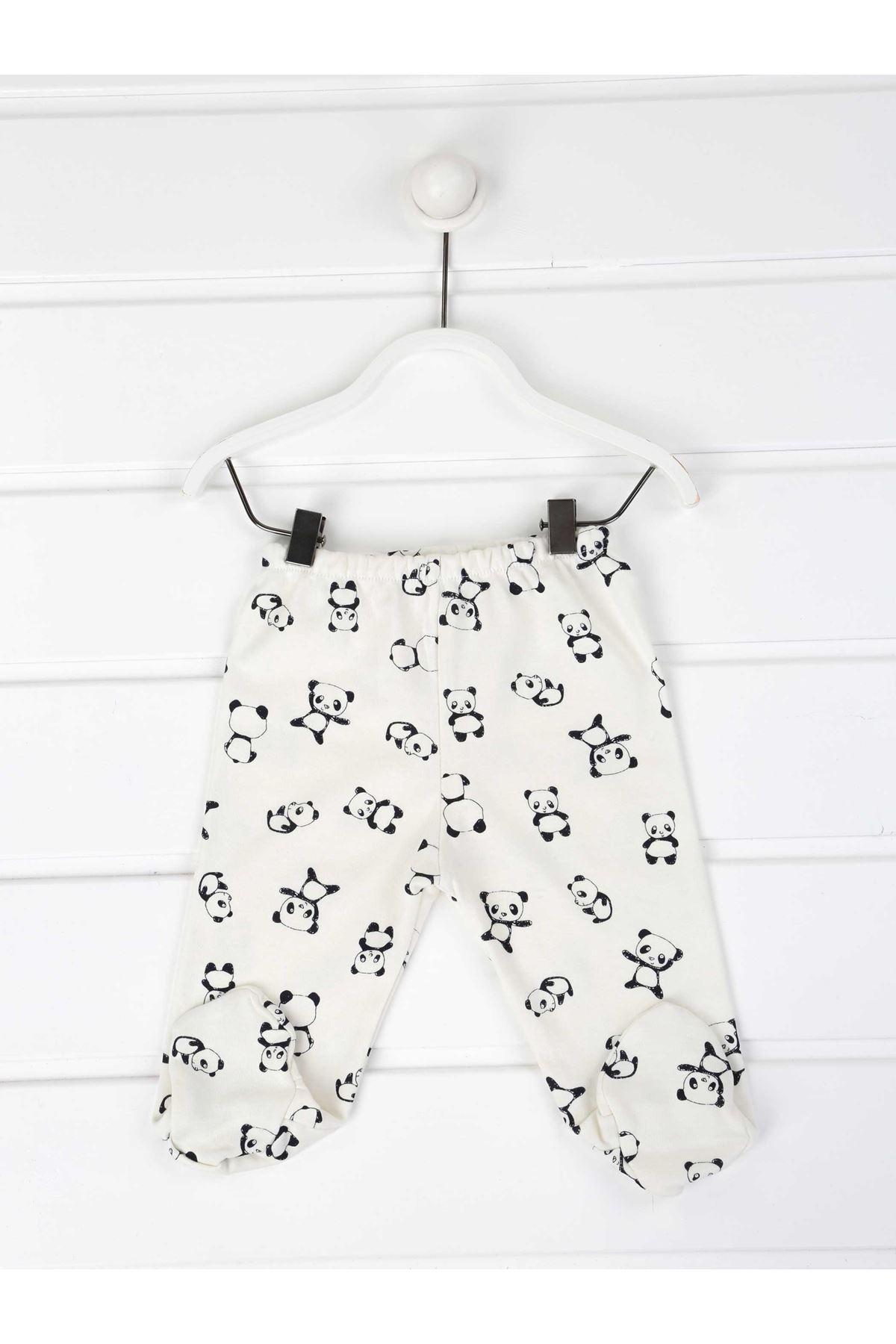 Lacivert Mini Panda Erkek Bebek 3 lü Tekalt
