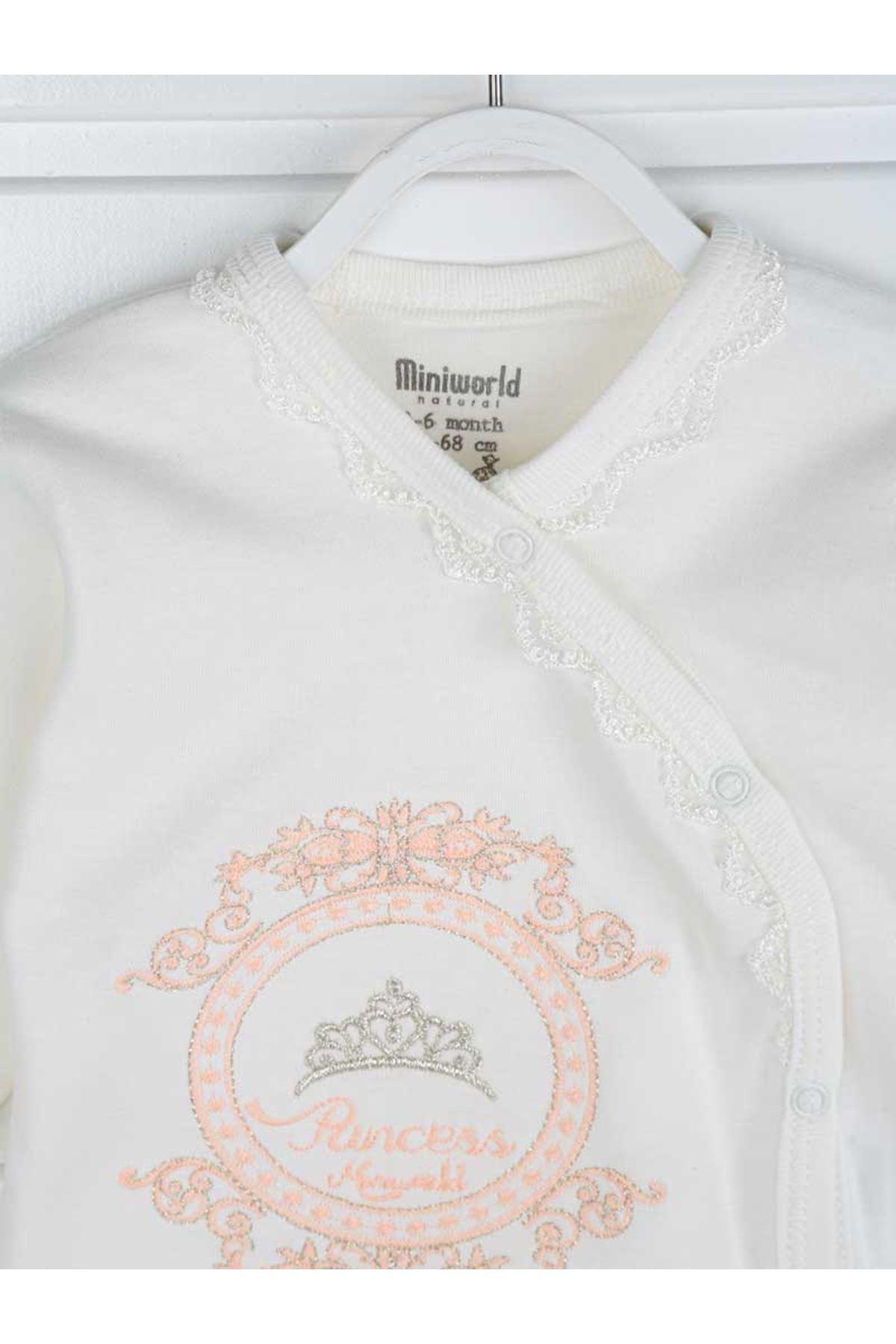 Pudra Prenses Kız Bebek 3 lü Takım