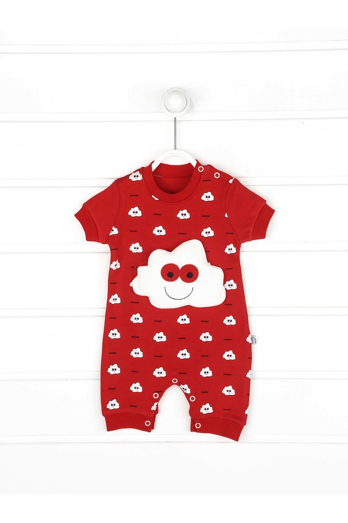 Red Summer Baby Boy Rompers