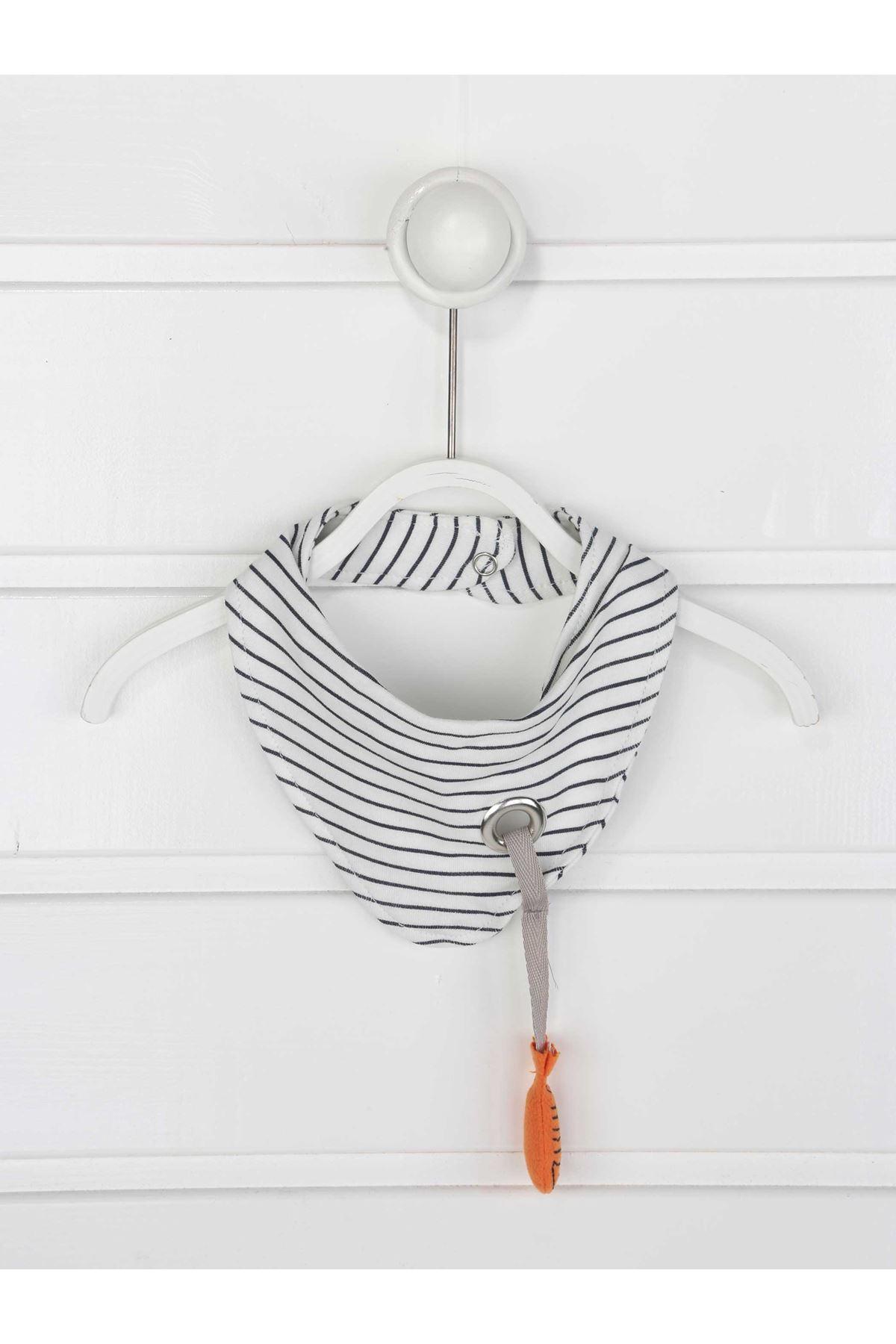 Gri Erkek Bebek Penguenli Tulum
