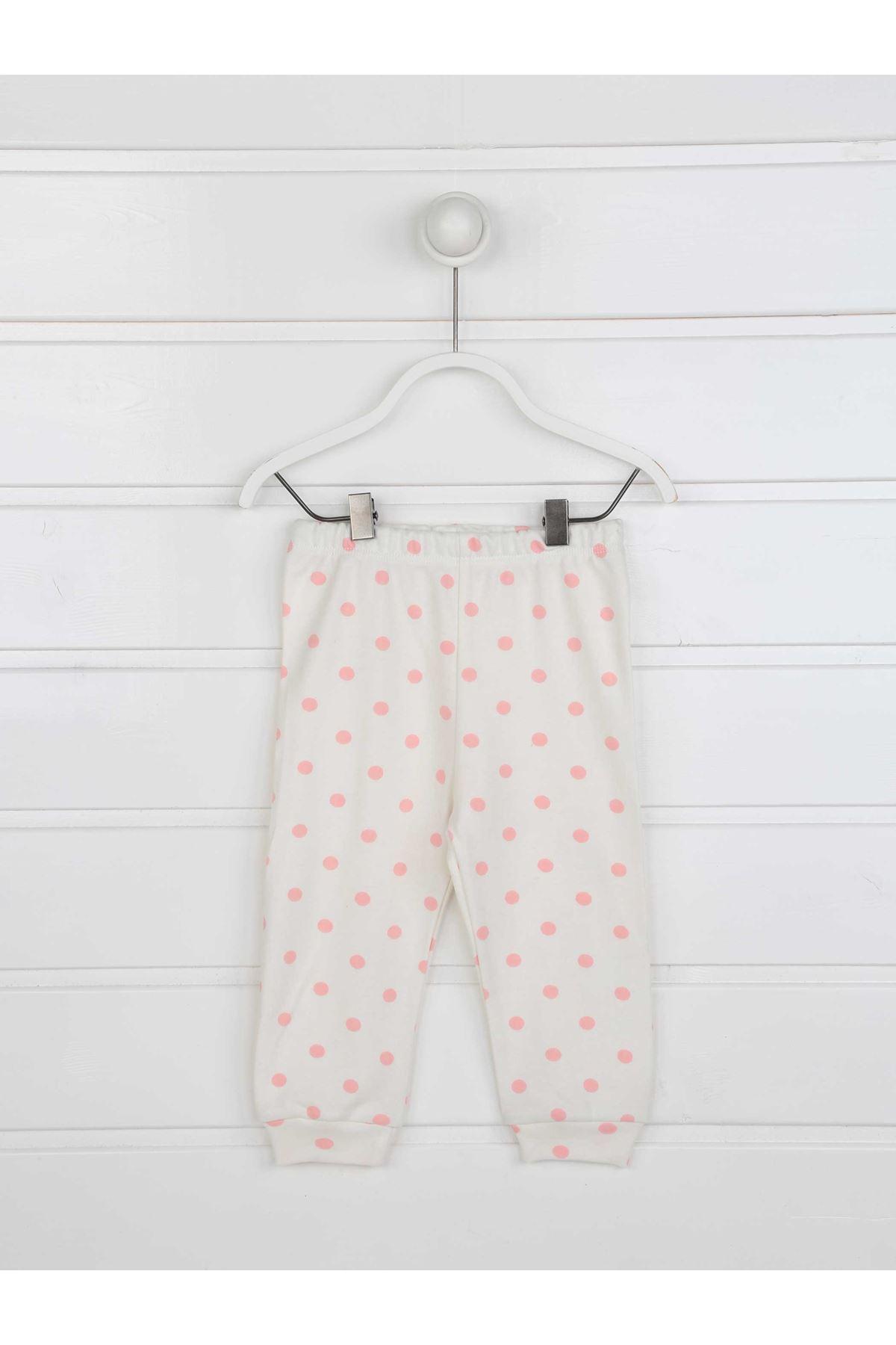 Pembe Kız Çocuk Pijama Takımı