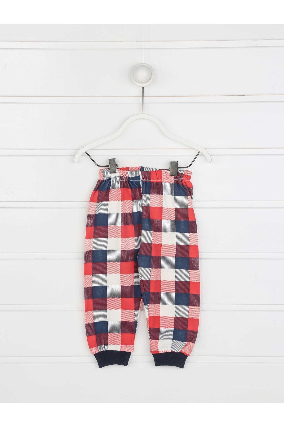 Lacivert Erkek Çocuk Pijama Takımı