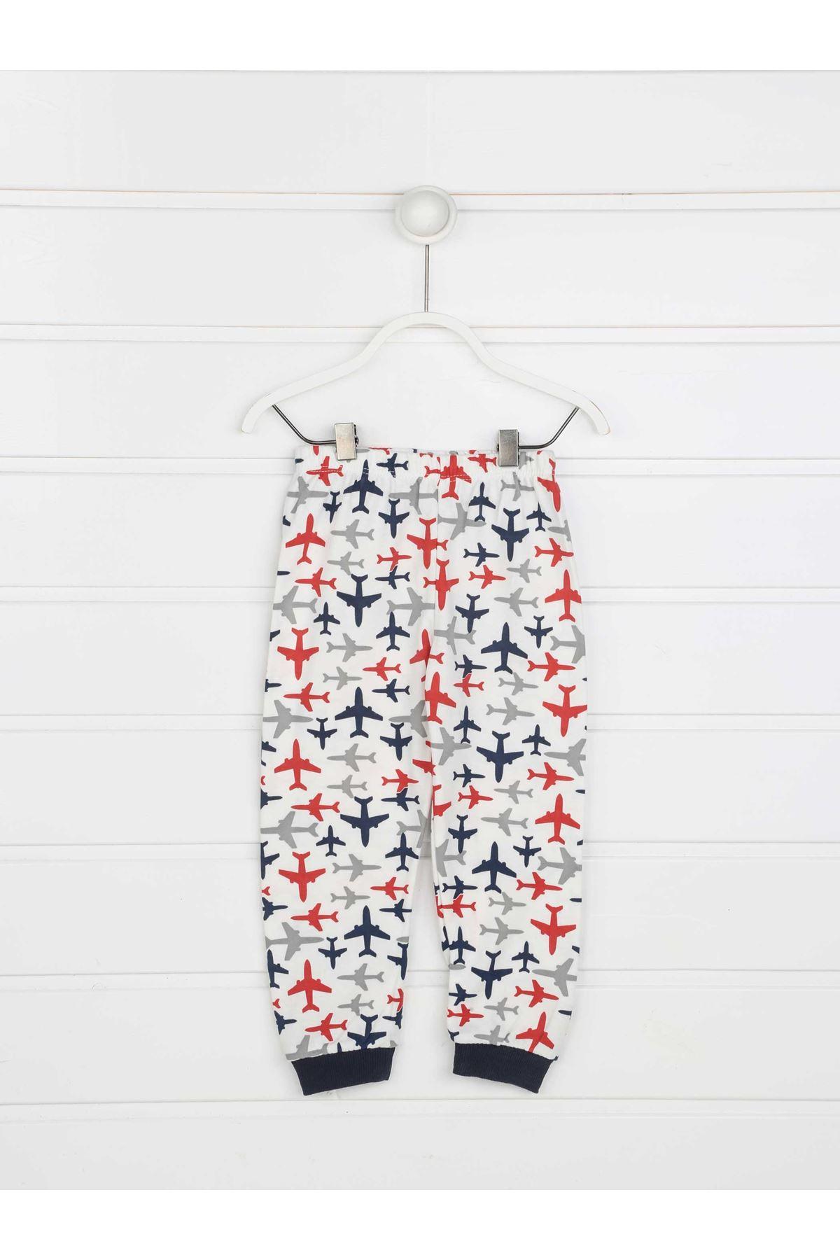 Kırmızı Erkek Çocuk Pijama Takımı