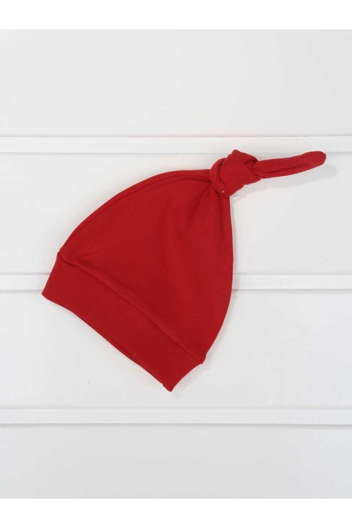 Gri Erkek Bebek Şapkalı Tulum