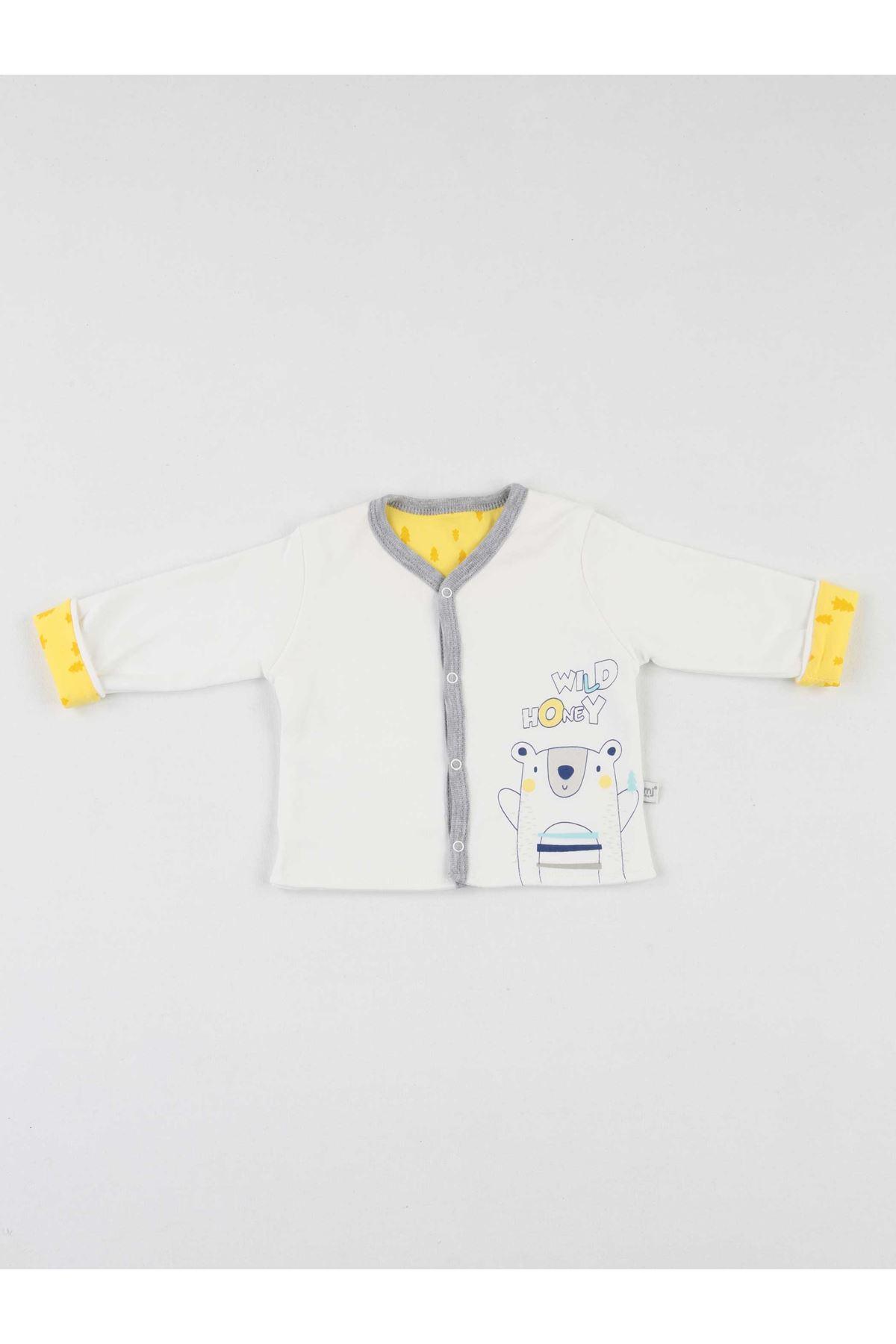 Sarı Erkek Bebek 8 li Hastane Çıkışı