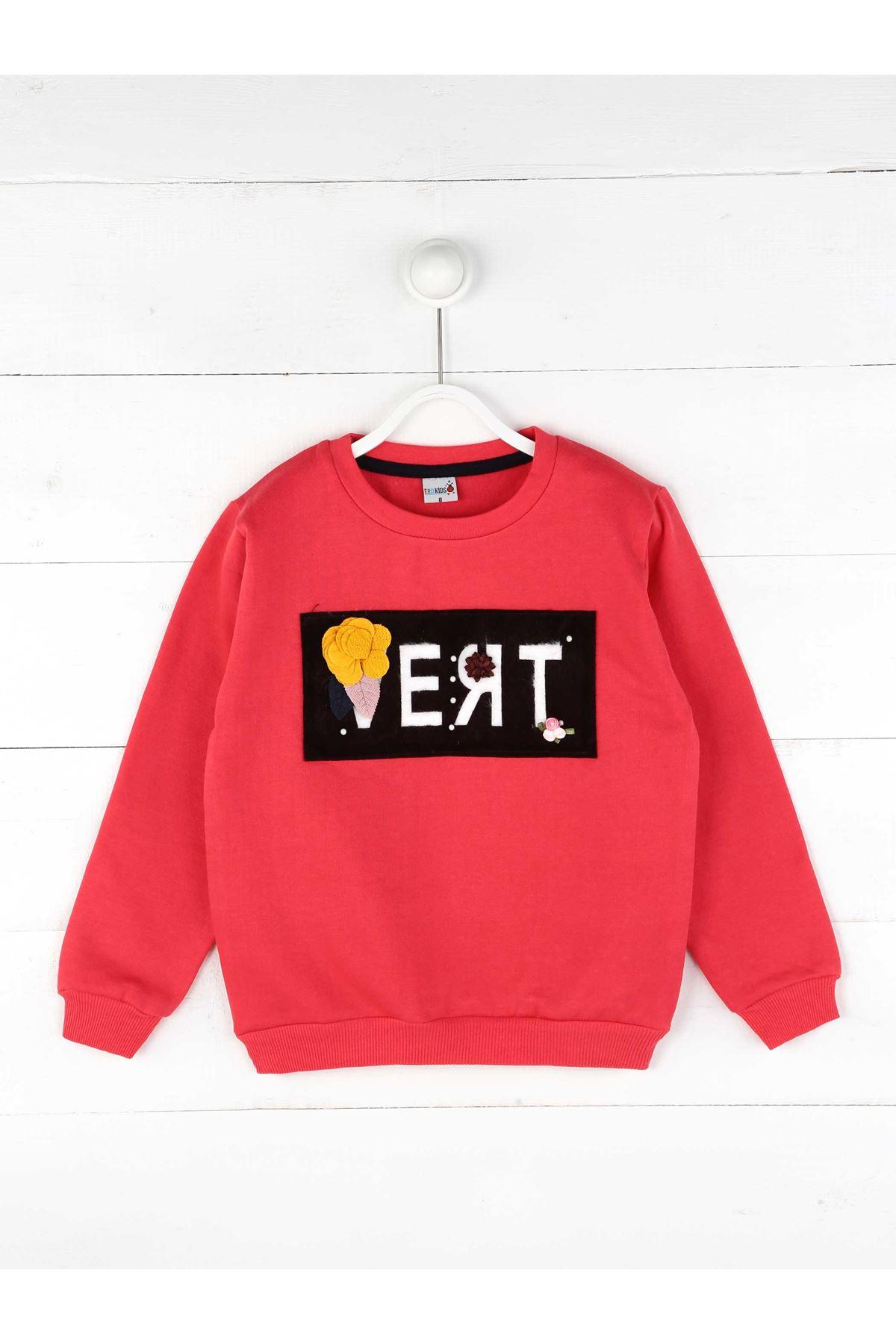 Narçiçeği Kışlık Kız Çocuk Sweatshirt