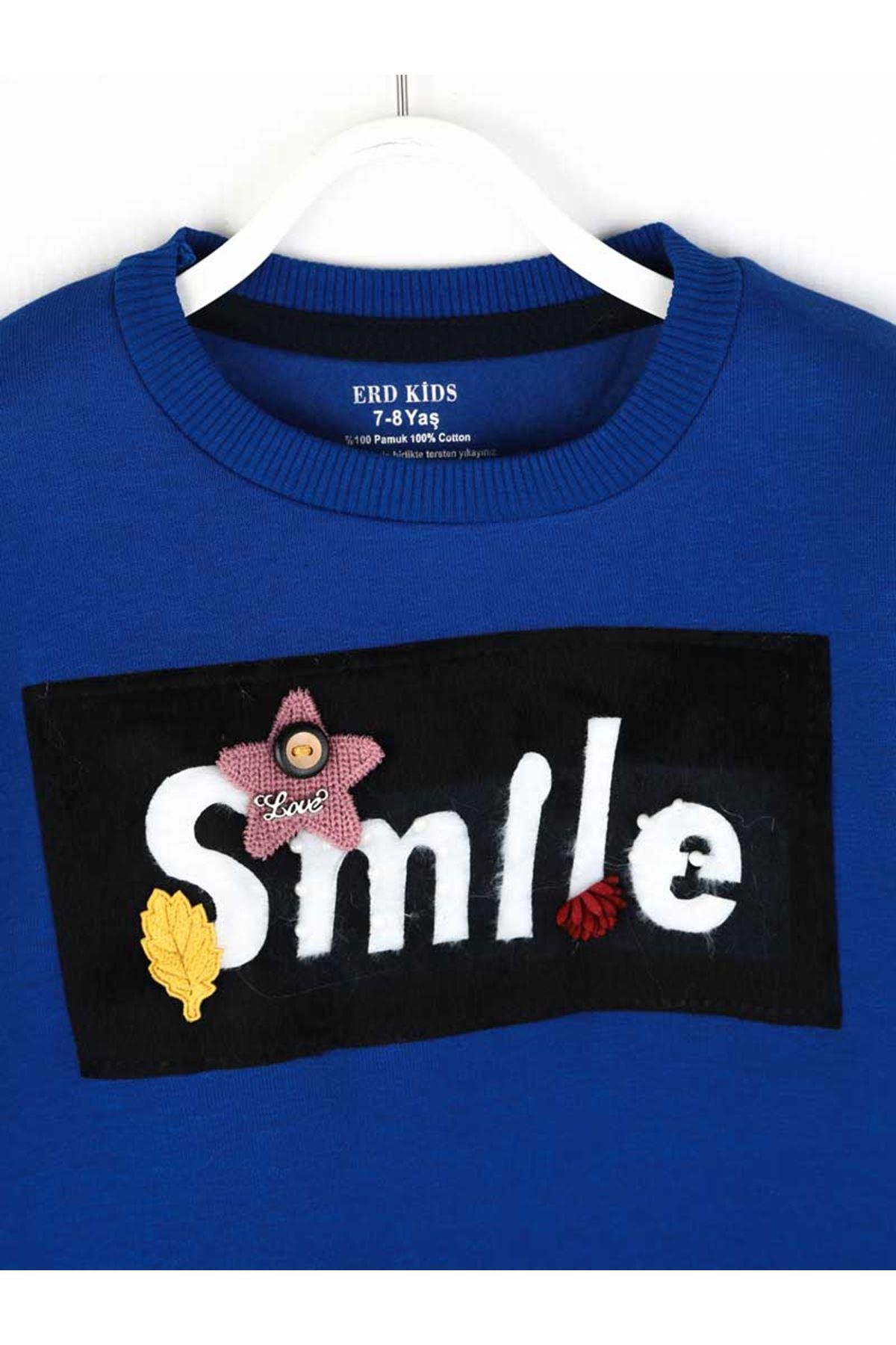 Sax Kışlık Kız Çocuk Sweatshirt