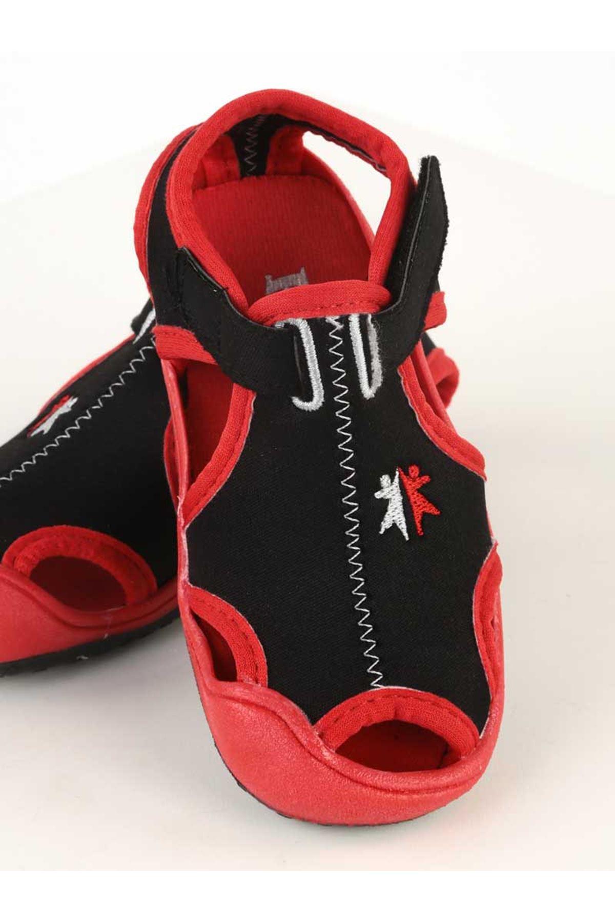 Kırmızı Erkek Çocuk Sandalet Ayakkabı