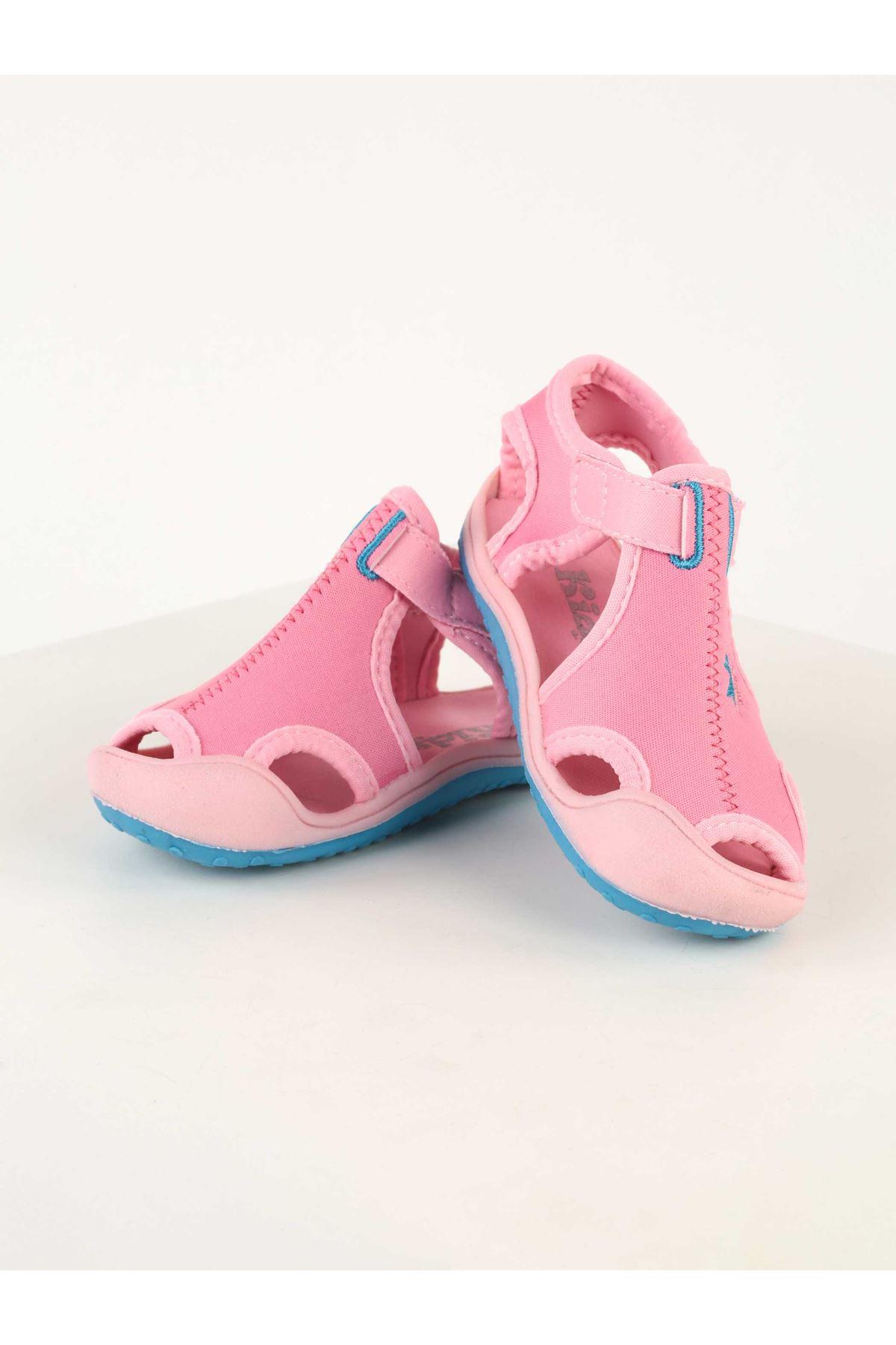 Pembe Kız Çocuk Sandalet Ayakkabı