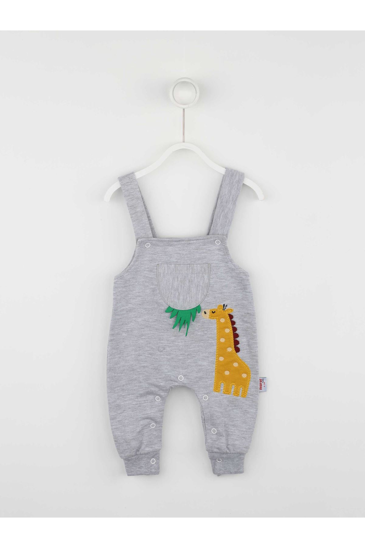 Gray Baby Boy Rompers