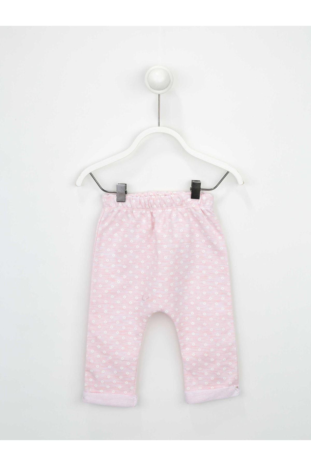 Pembe Kız Bebek 2 li Takım
