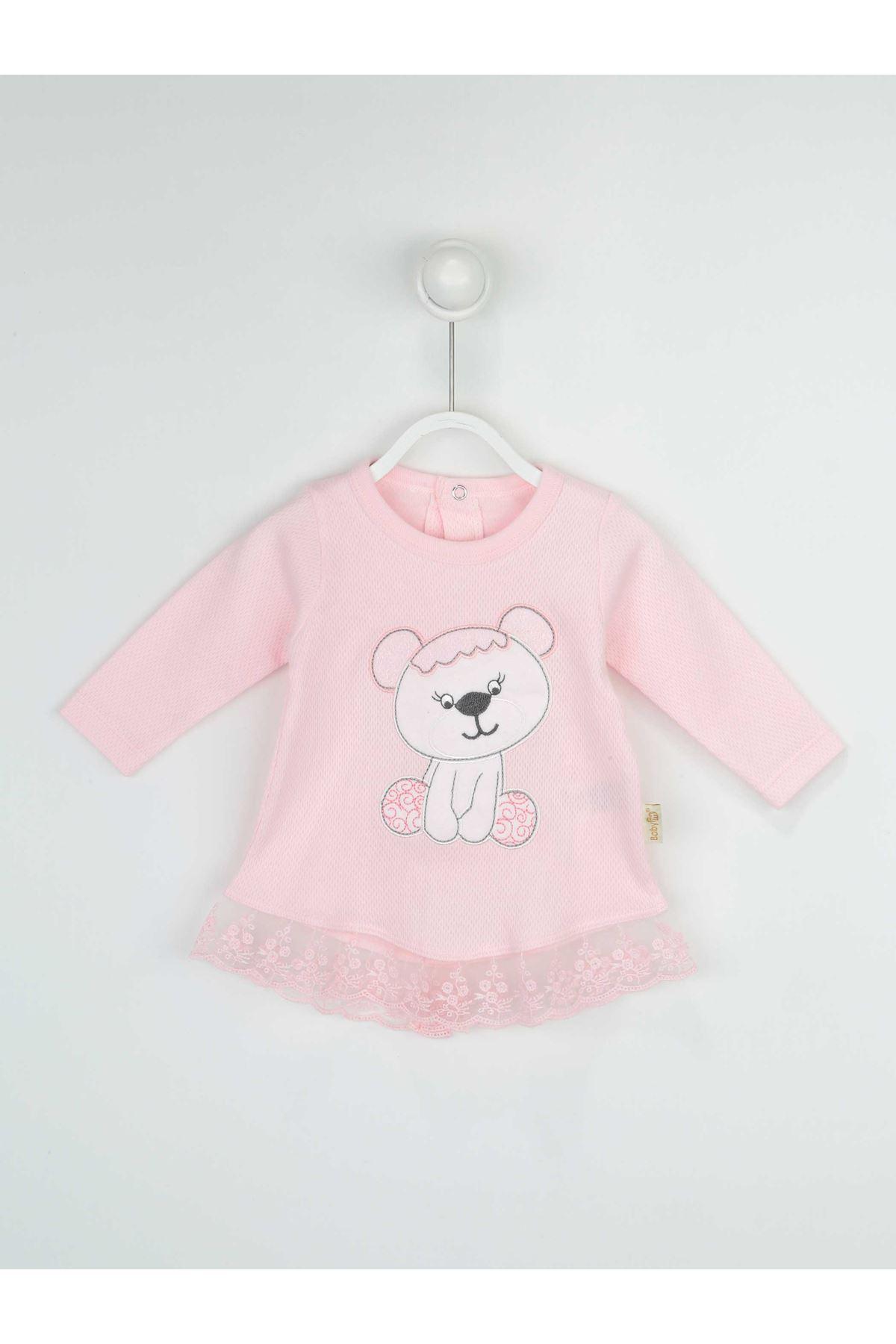 Pink Baby Girl 3 Pcs Set