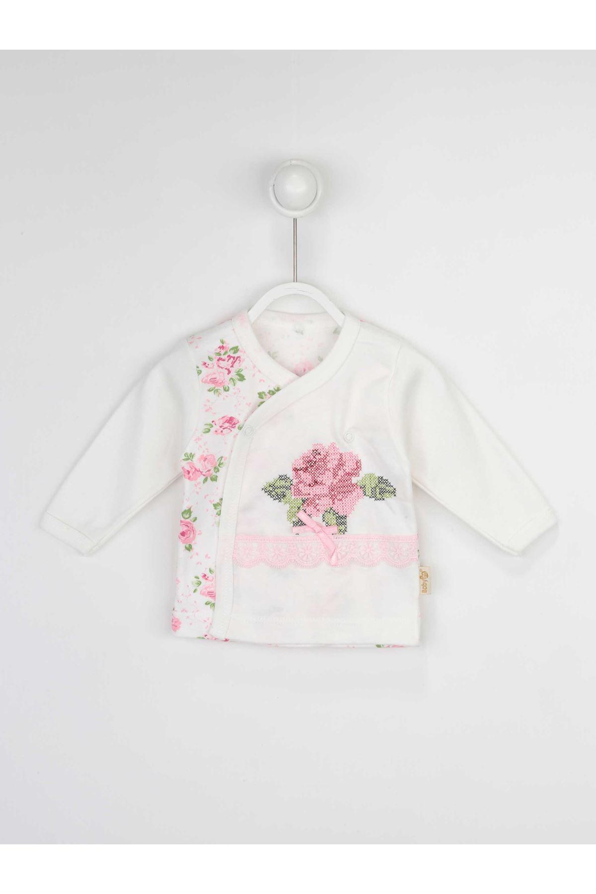 Beyaz Kız Bebek 3 lü Takım
