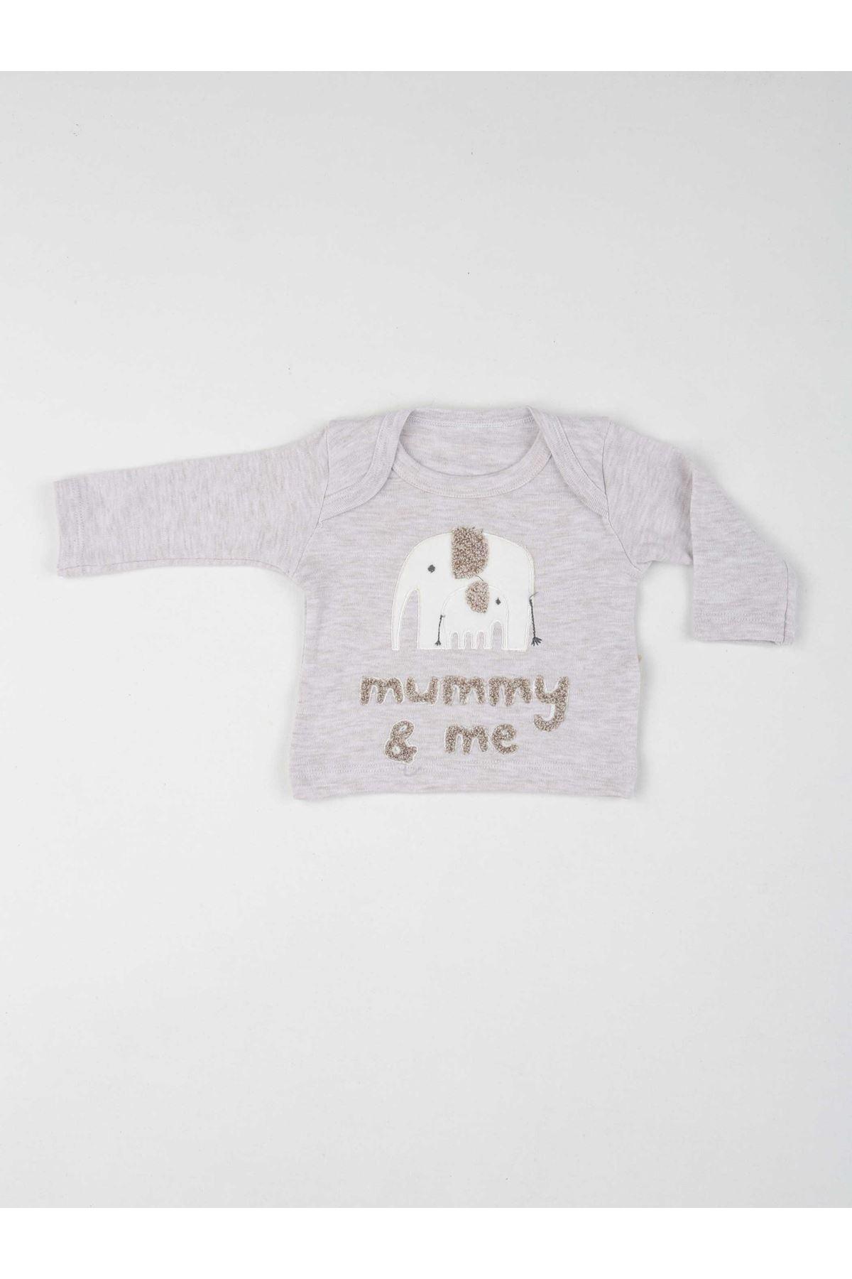 Kahverengi Erkek Bebek 5 li Zıbın Takım