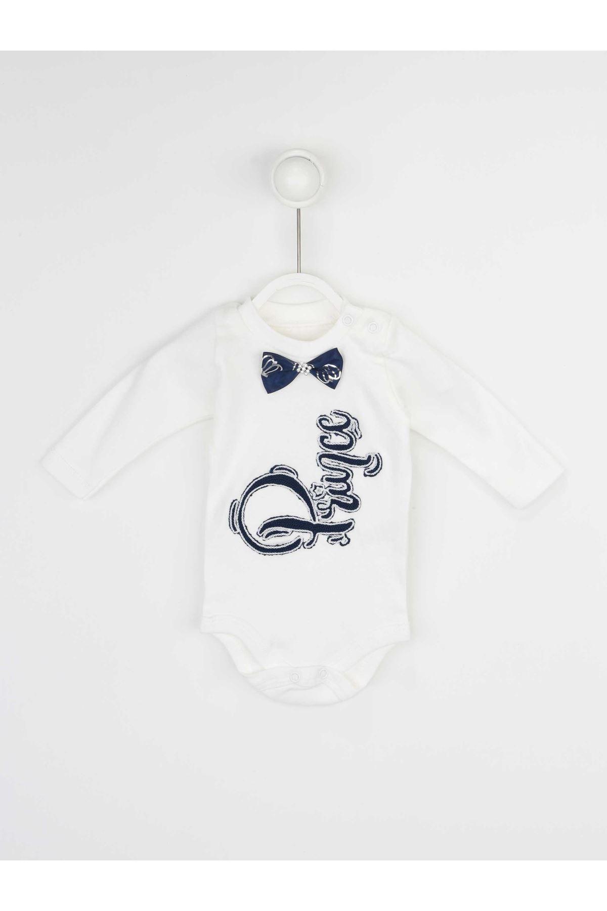 Lacivert Erkek Bebek 3 lü Takım