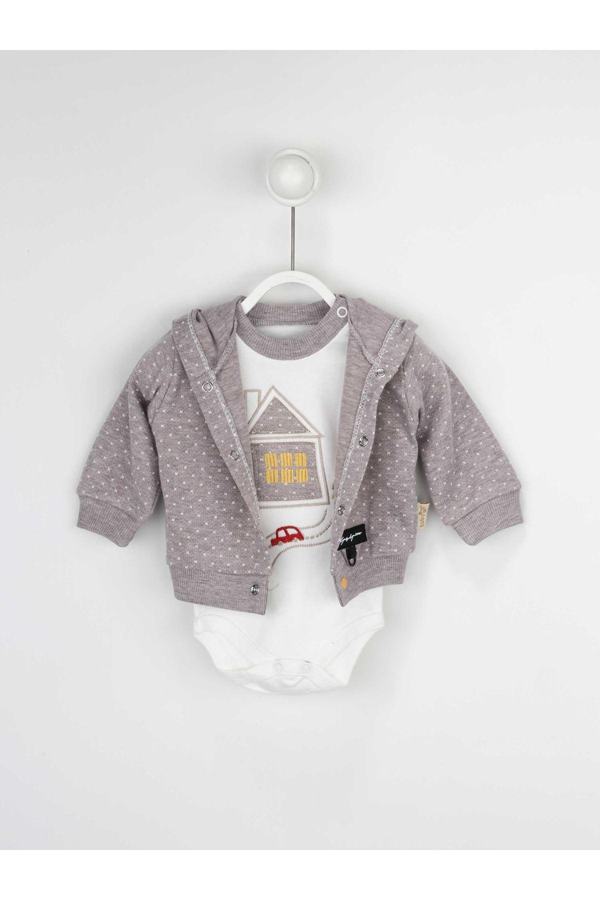 Kahverengi Erkek Bebek 3 lü Takım