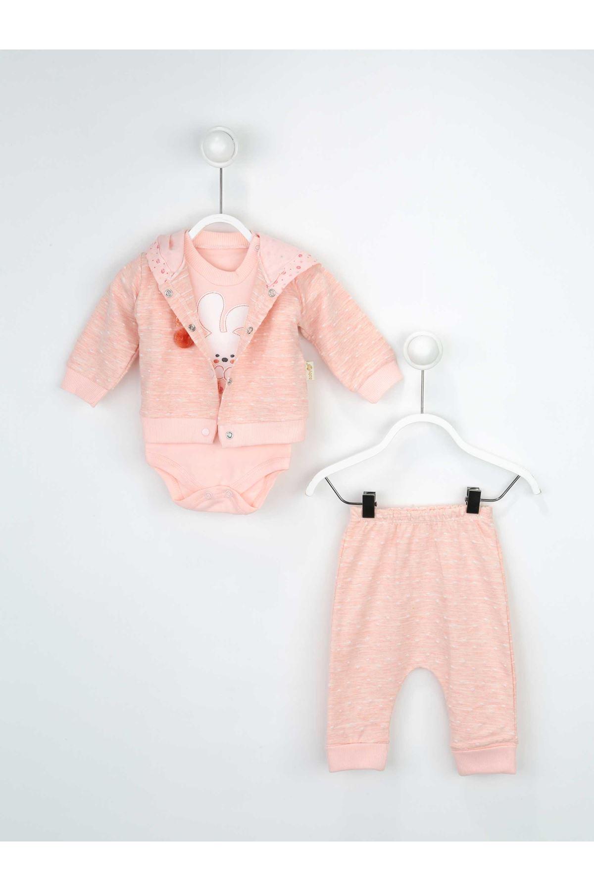 Somon Kız Bebek 3 lü Takım