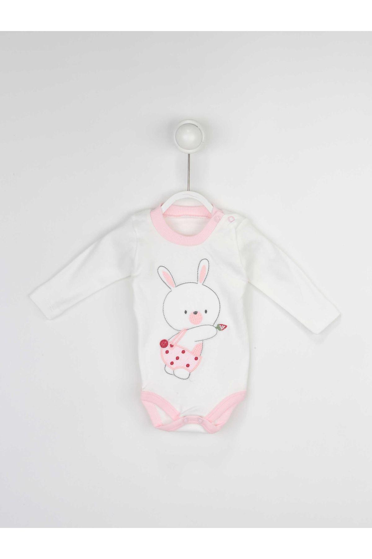 Pembe Kız Bebek 3 lü Takım