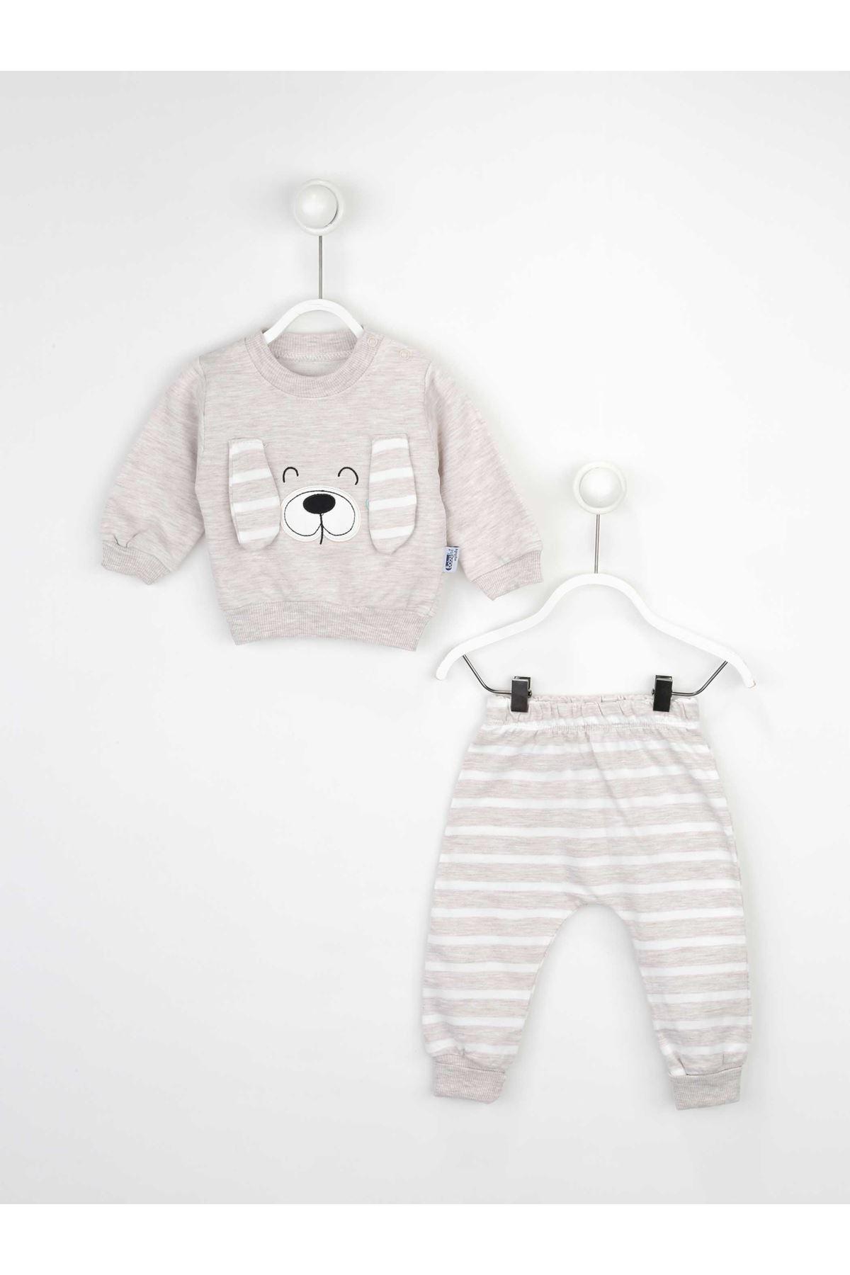 Kahverengi Erkek Bebek 2 li Takım