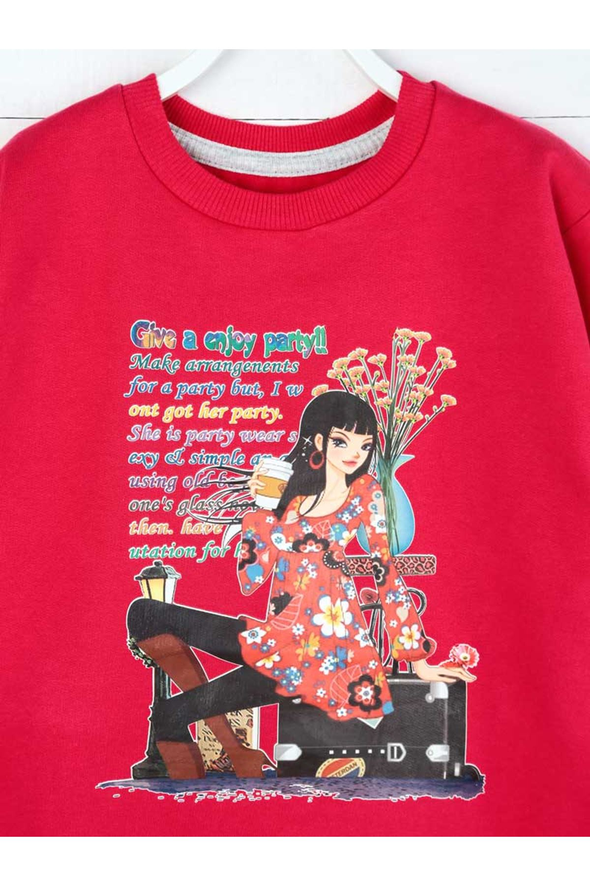 Damson Seasonal Girl Child Sweatshirt