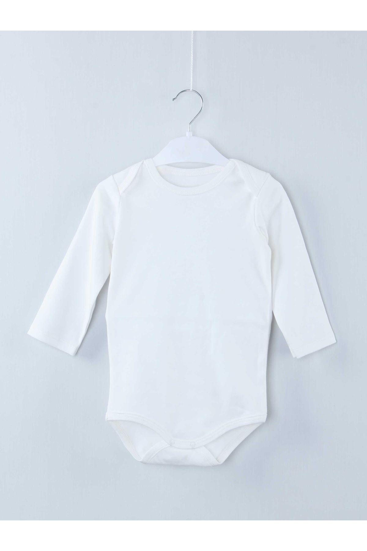 Cream Long Sleeve Baby Badi