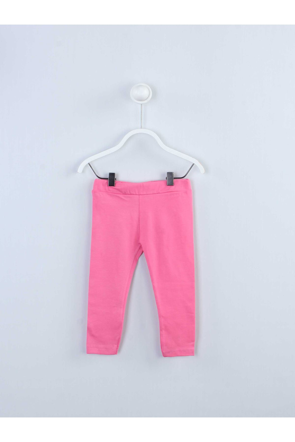 Fuchsia girls tights suit top T-shirt tights cotton daily season wear outfit models