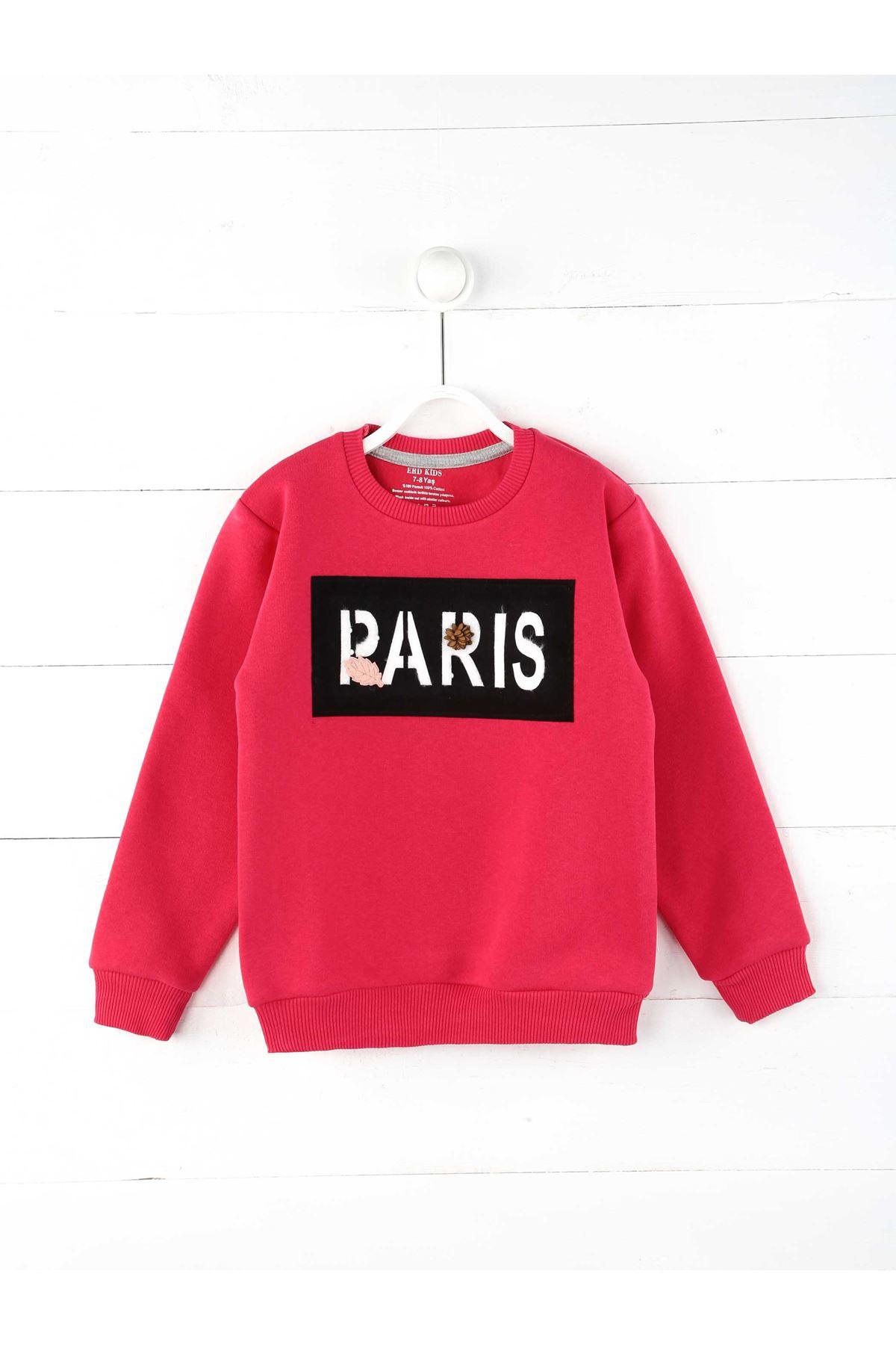 Fuchsia Winter Girls Children Sweatshirts