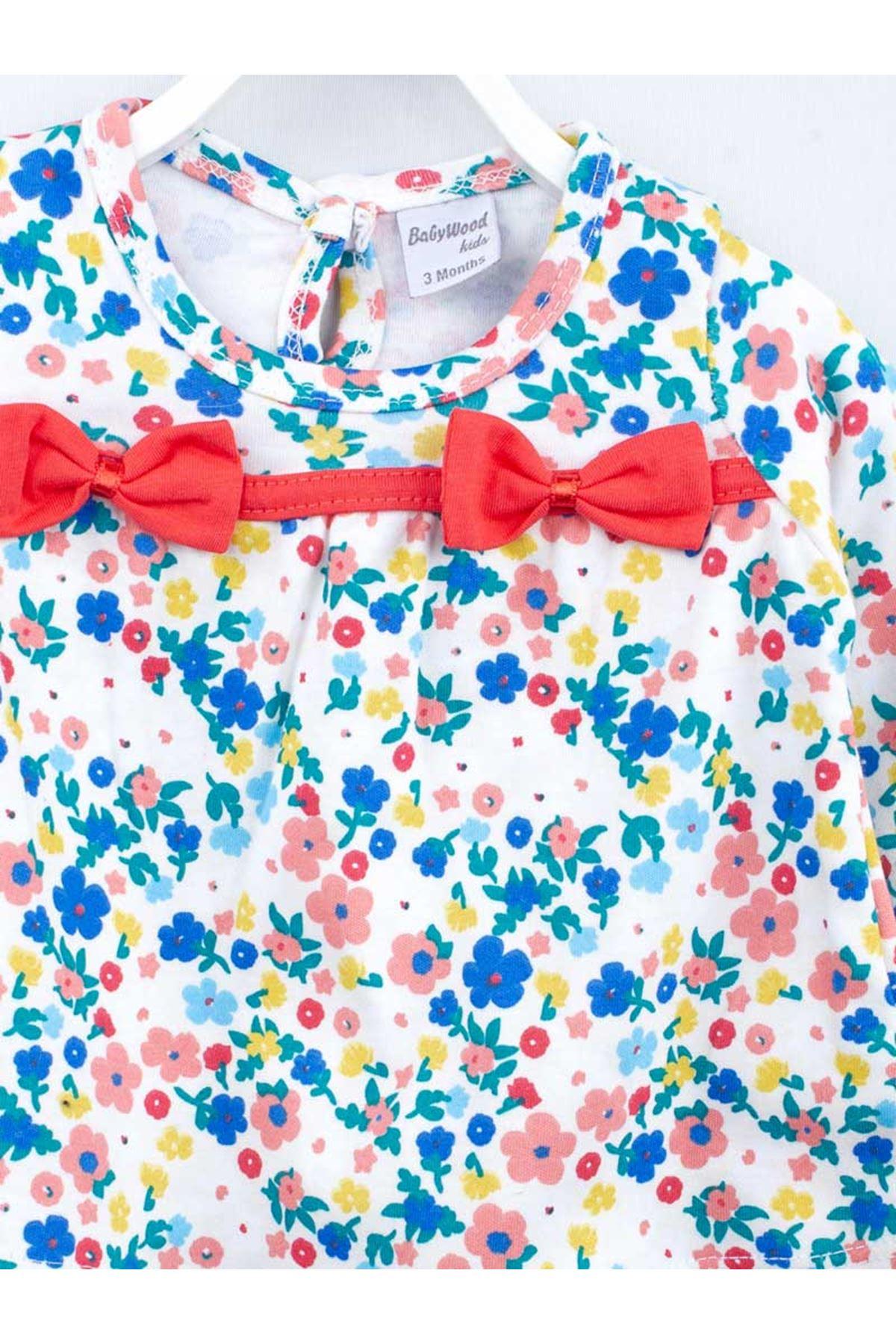 Narçiçeği Kız Bebek Taytlı Takım