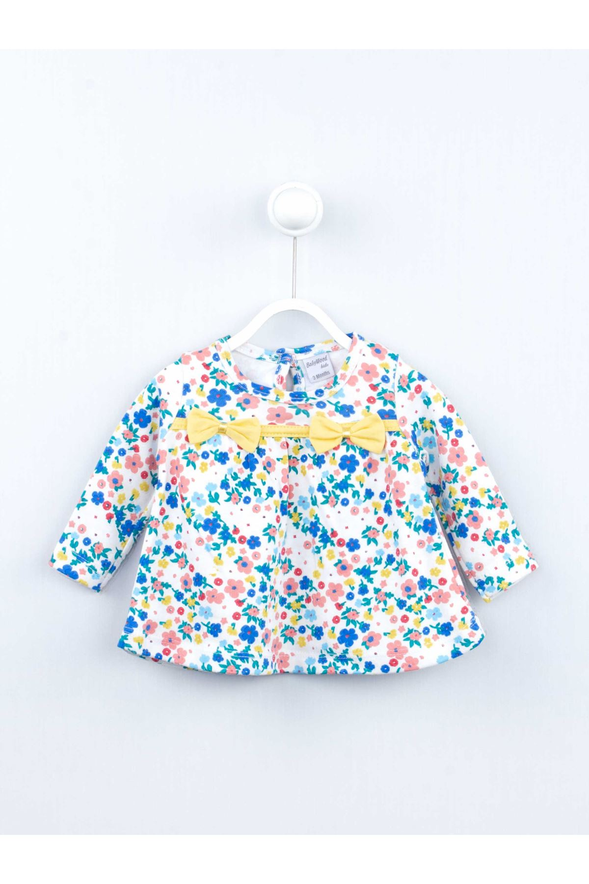 Yellow Baby Girl Daily 2 Piece Suit Set Cotton Daily Seasonal Casual Wear Girls Babies Suit Outfit Models