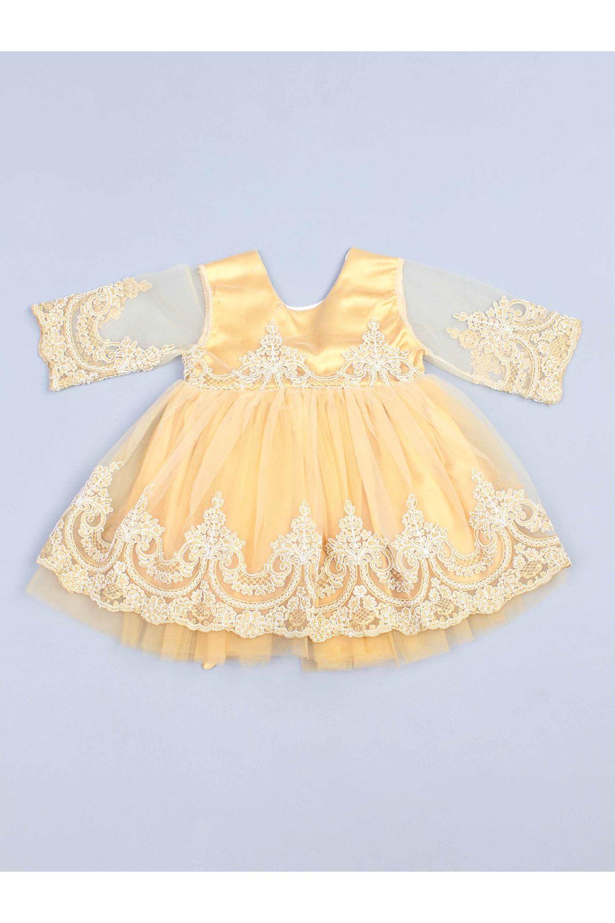 Sarı 5 li Kız Bebek Mevlüt Takım
