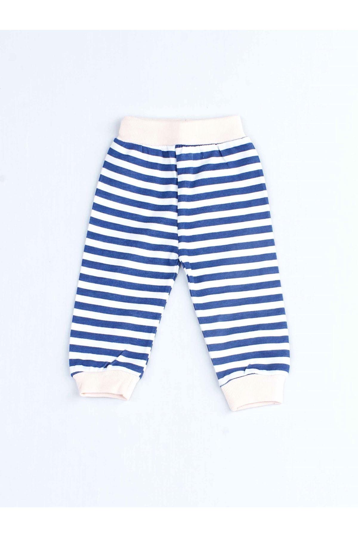 Pudra Kız Bebek Pijama Takımı