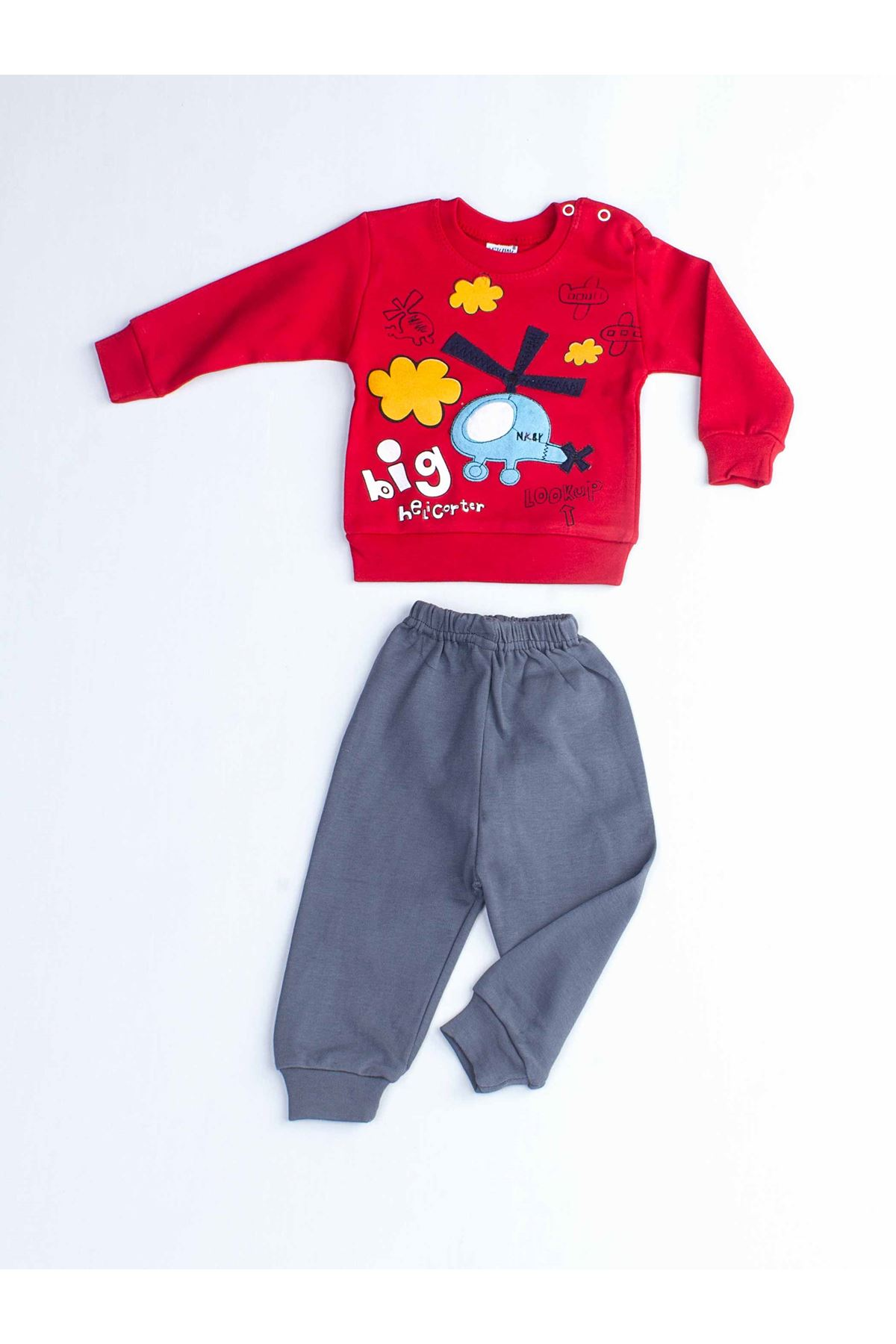 Red Male Baby 2 li Suit