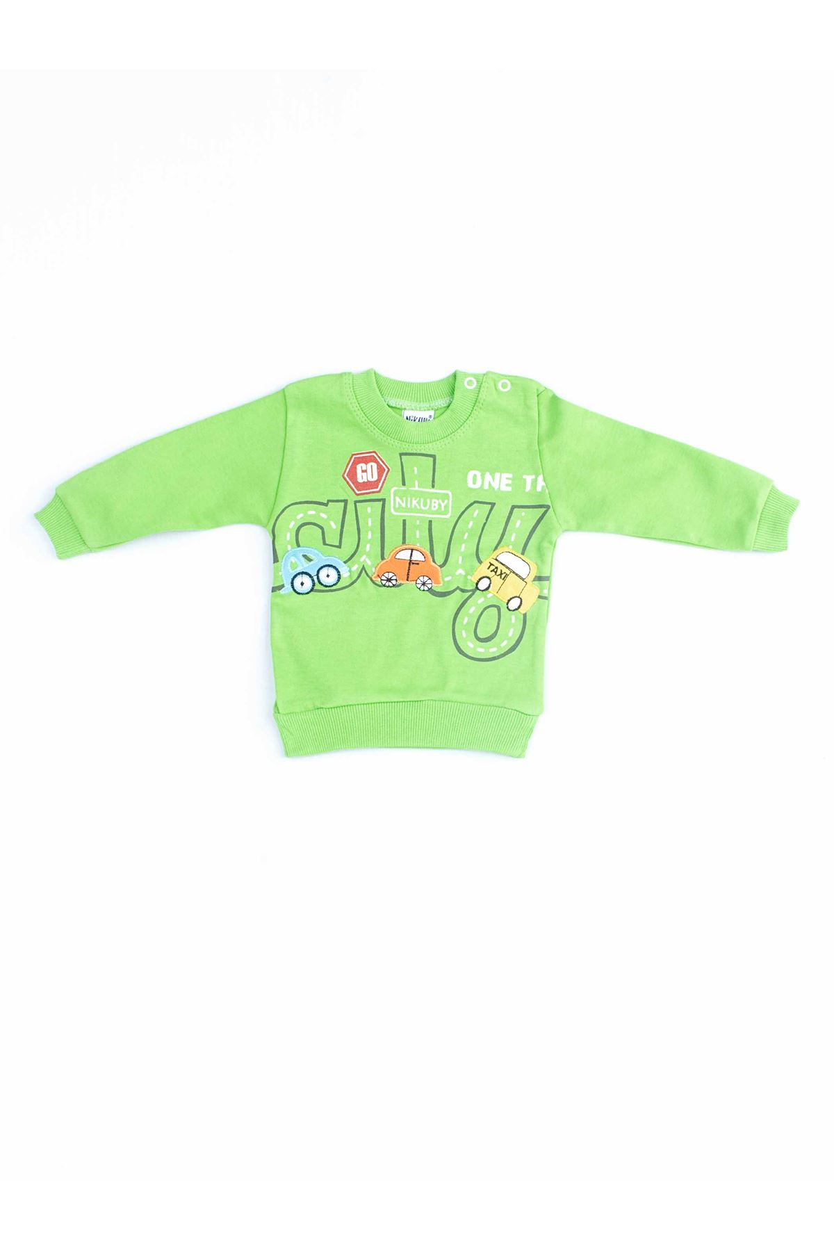 Yeşil Erkek Bebek 2 li Takım