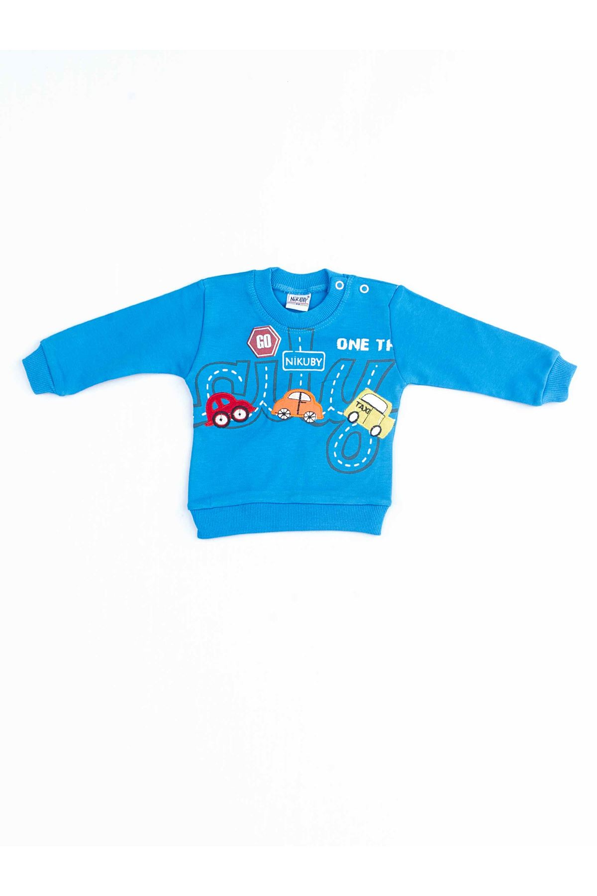 Mavi Erkek Bebek 2 li Takım
