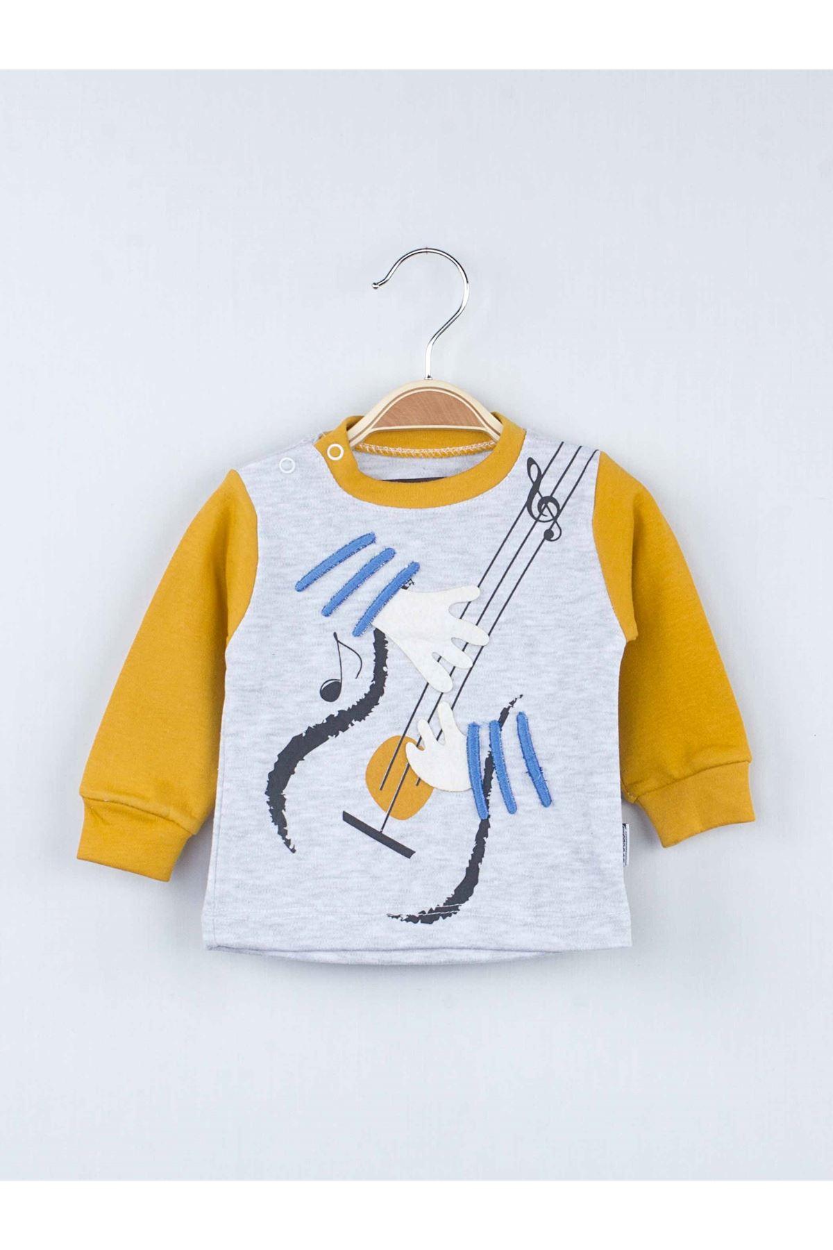 Yellow Seasonal Male Baby 2 Piece Suit