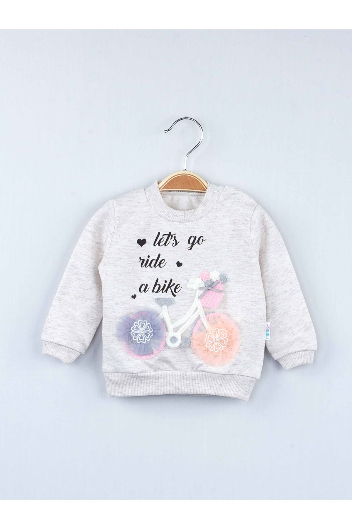 Cream Winter Girls Baby 2 pcs Suit