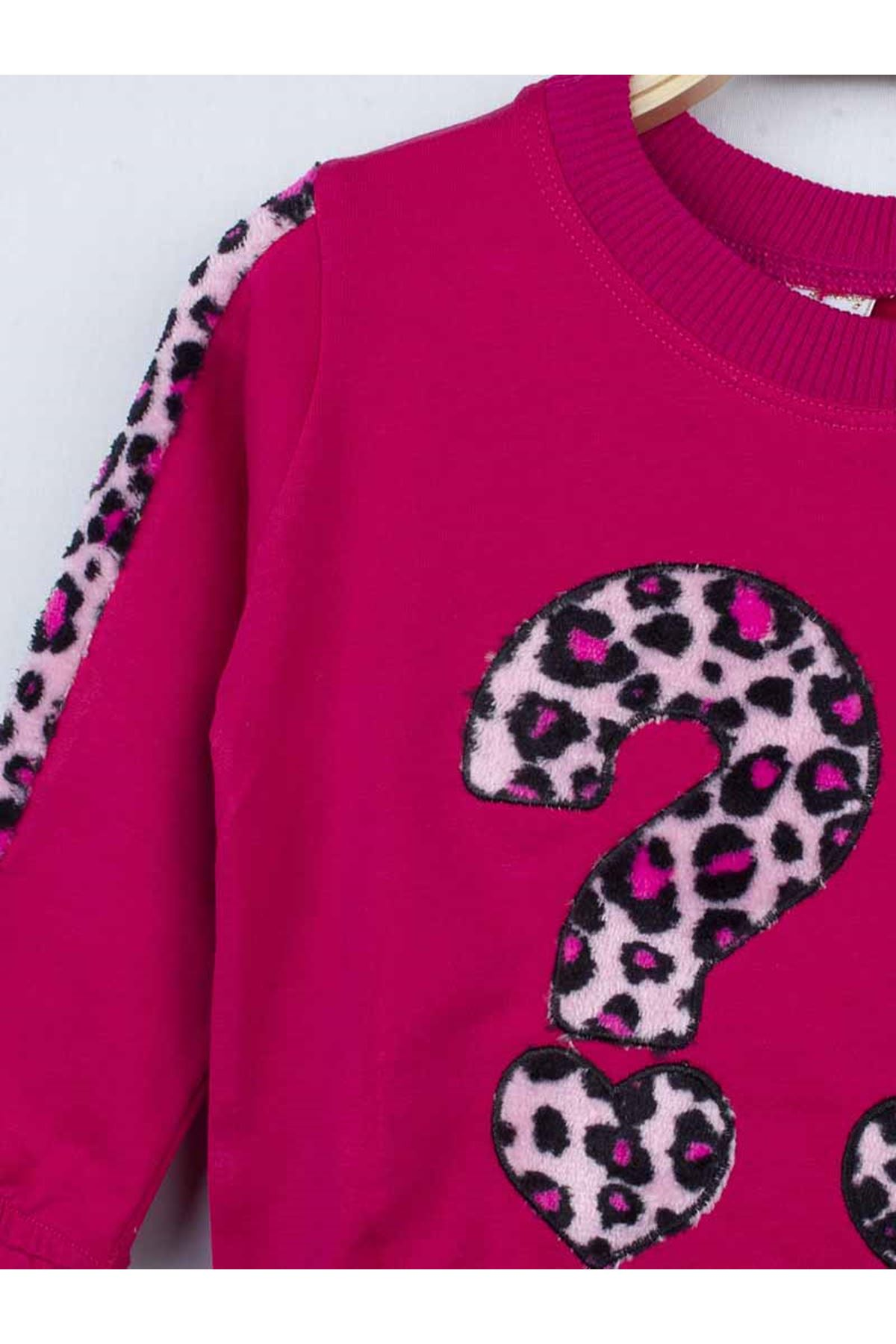 Fuchsia Seasonal Girl Children Tracksuit Set