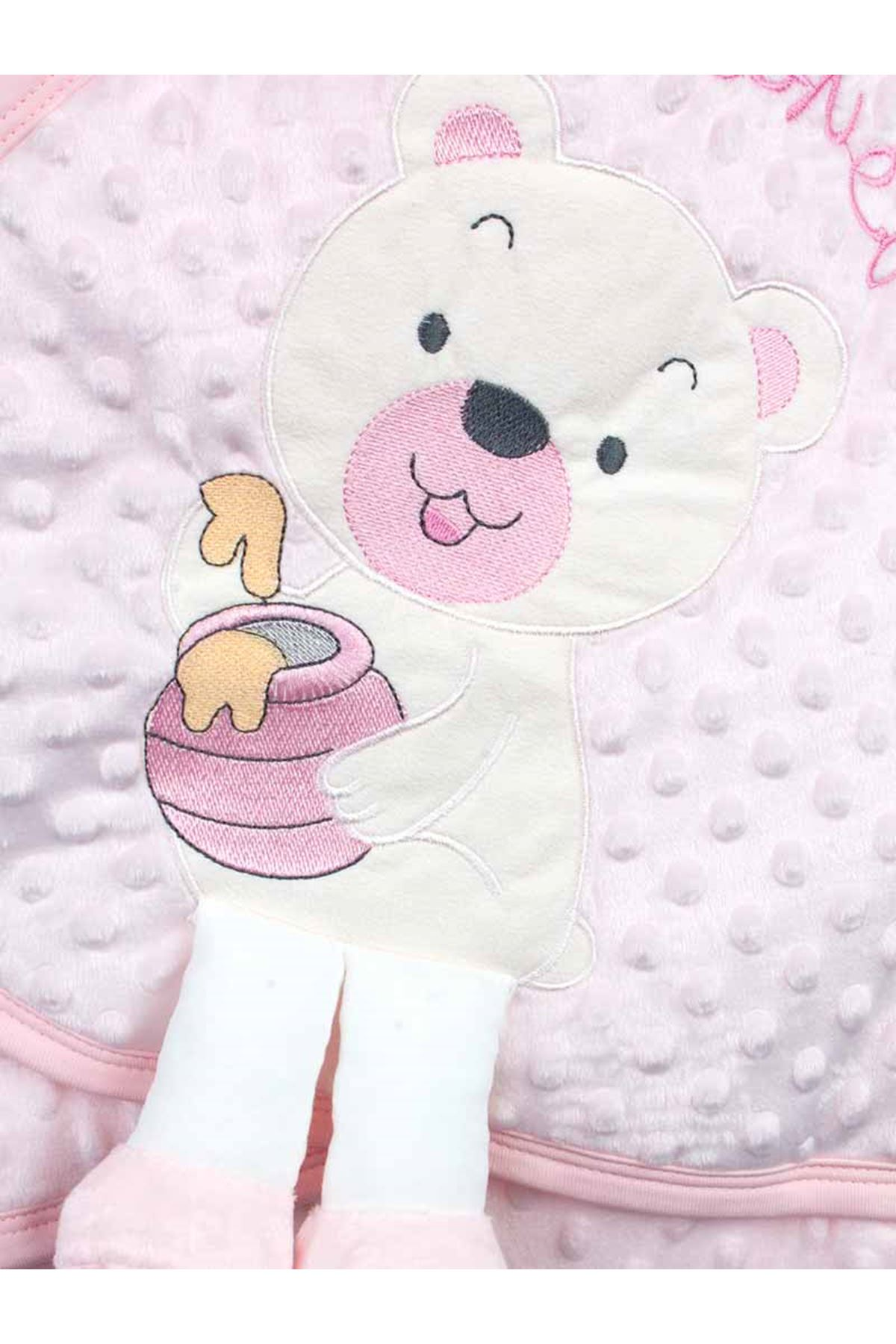 Pink Baby Girl Swaddle Hospital Outlet Newborn Teddy Chickpea Pattern Cotton Soft Baby Stroller Bed Models