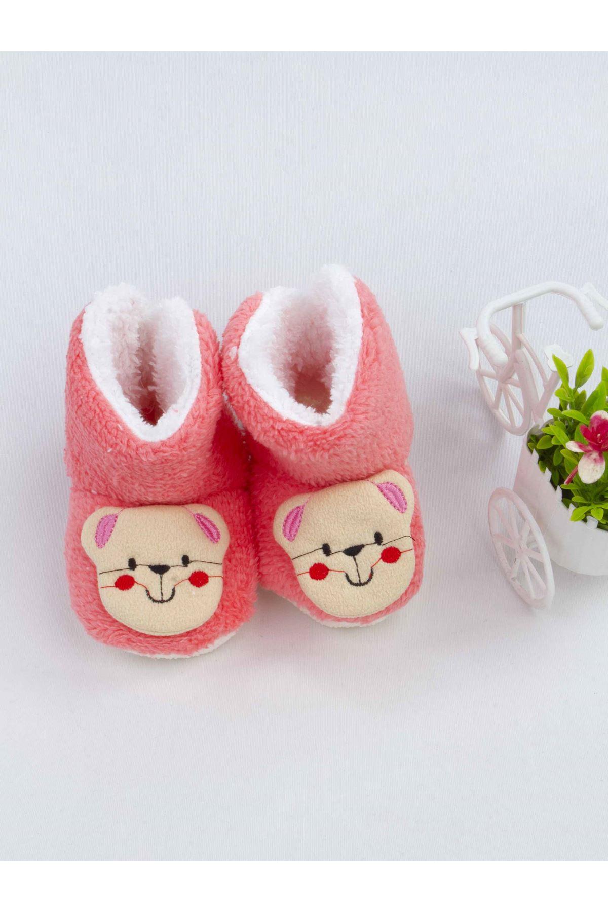 Narçiçeği Ayıcık Figürlü Kız Bebek Welsoft Panduf