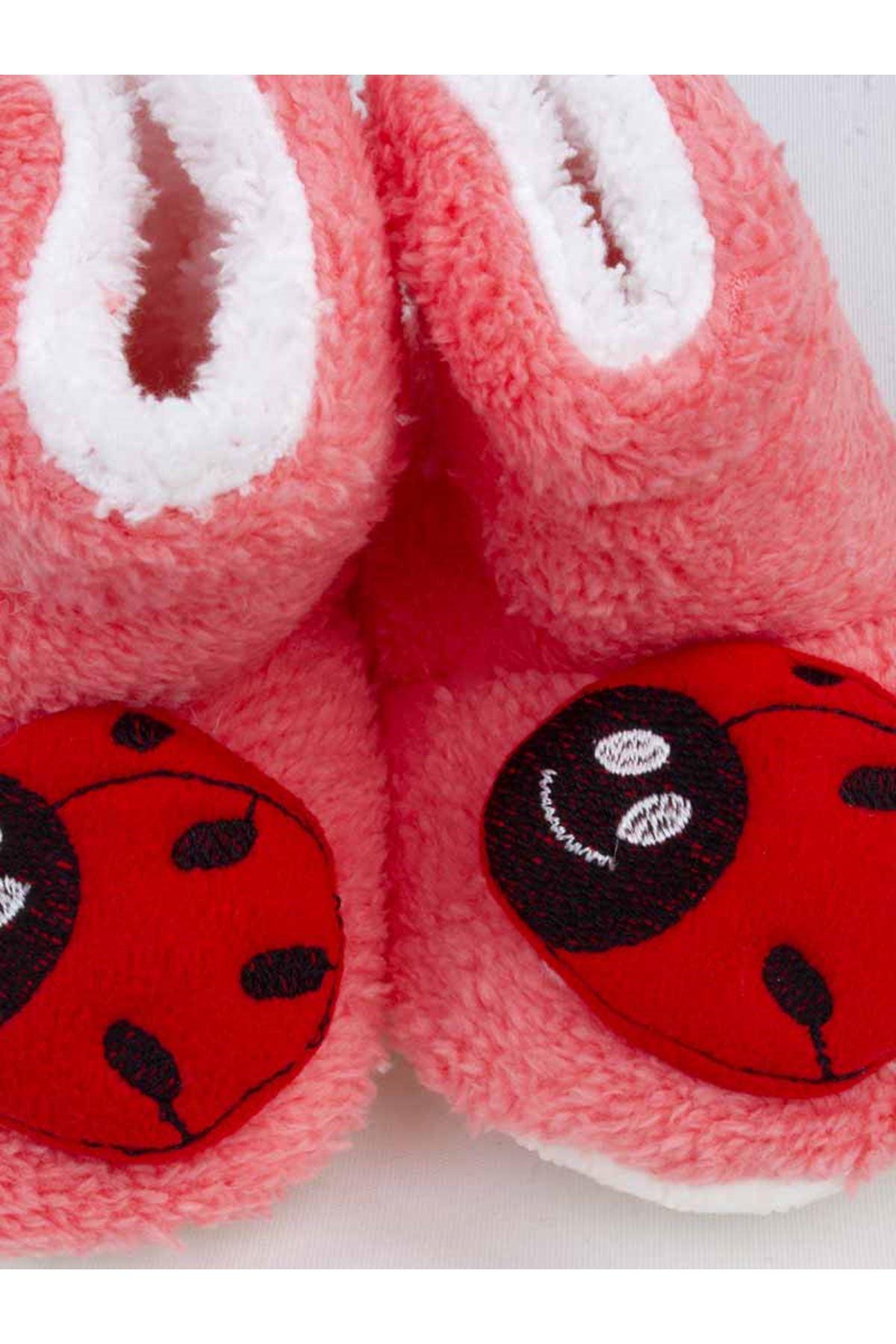 Narçiçeği Uğur Böceği Figürlü Kız Bebek Welsoft Panduf
