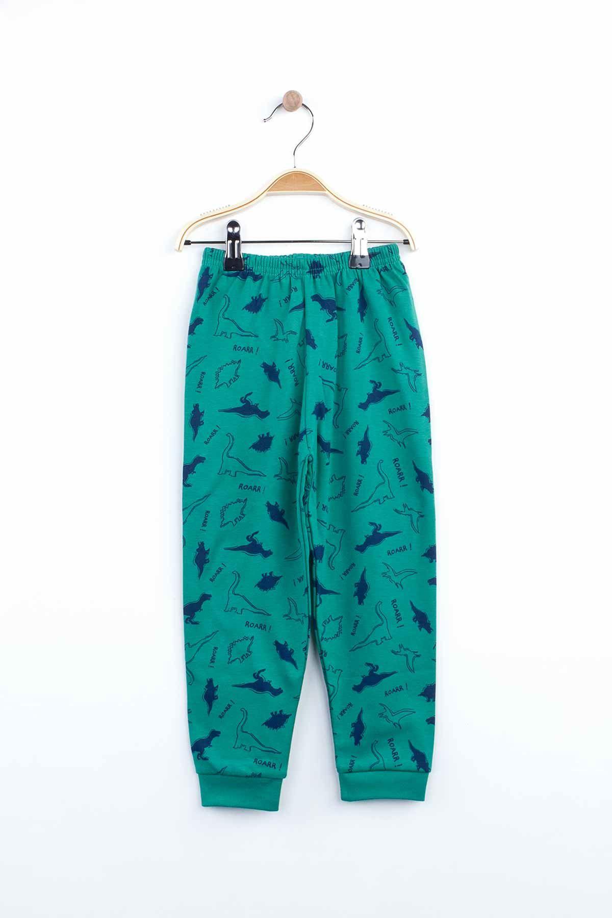 İndigo Erkek Çocuk Pijama Takımı