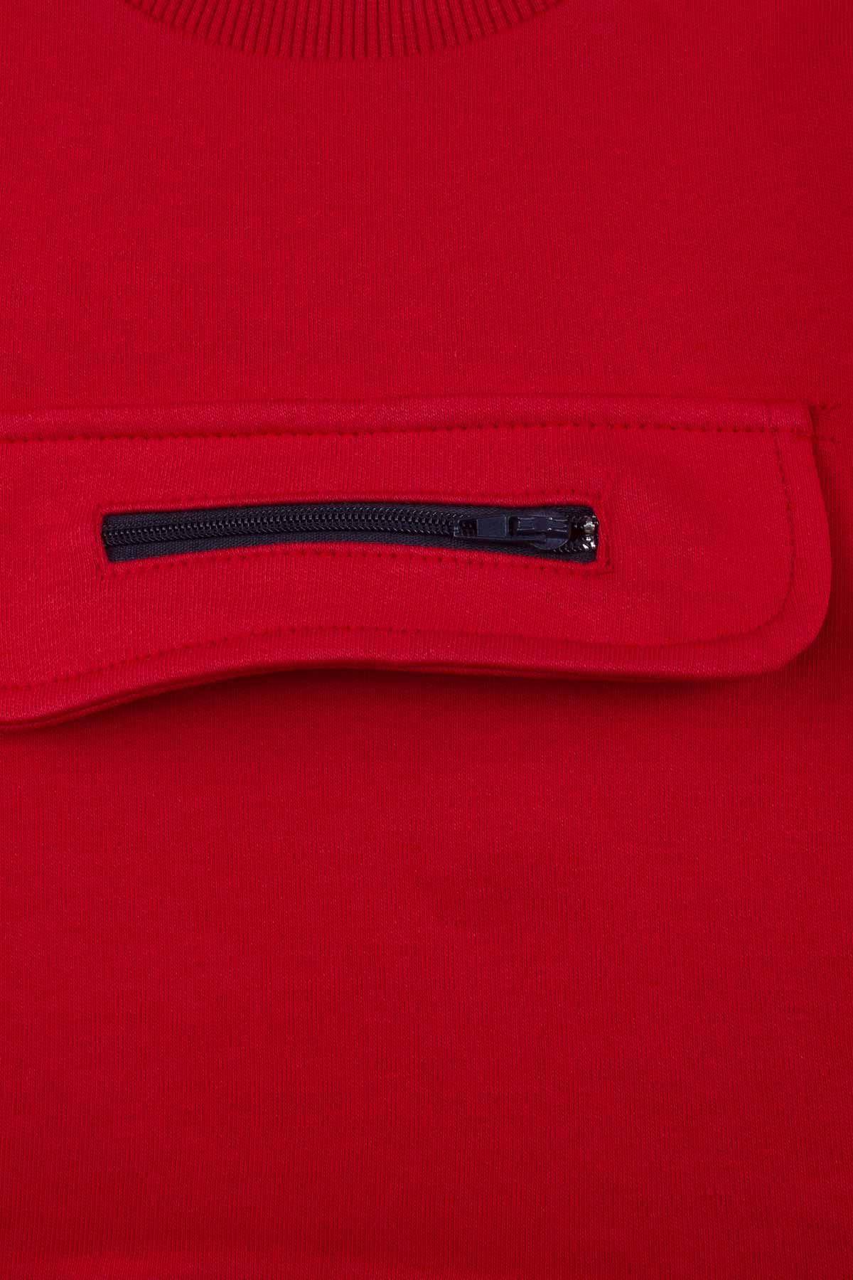 Kırmızı Mevsimlik Erkek Bebek 2 li Takım