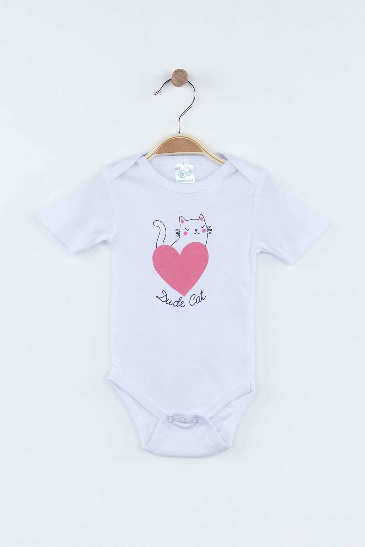 Pembe Mevsimlik Kız Bebek Badili Takım