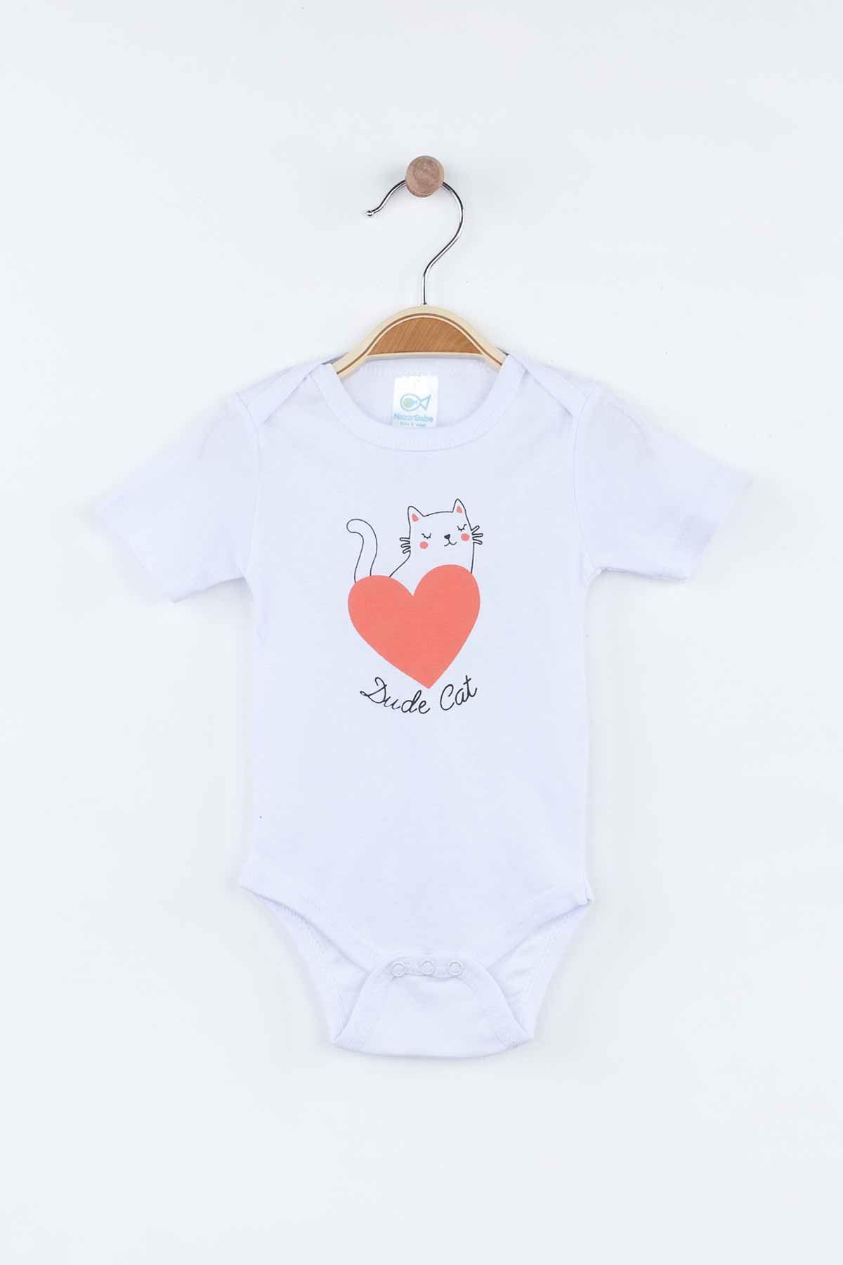 Turuncu Mevsimlik Kız Bebek Badili Takım